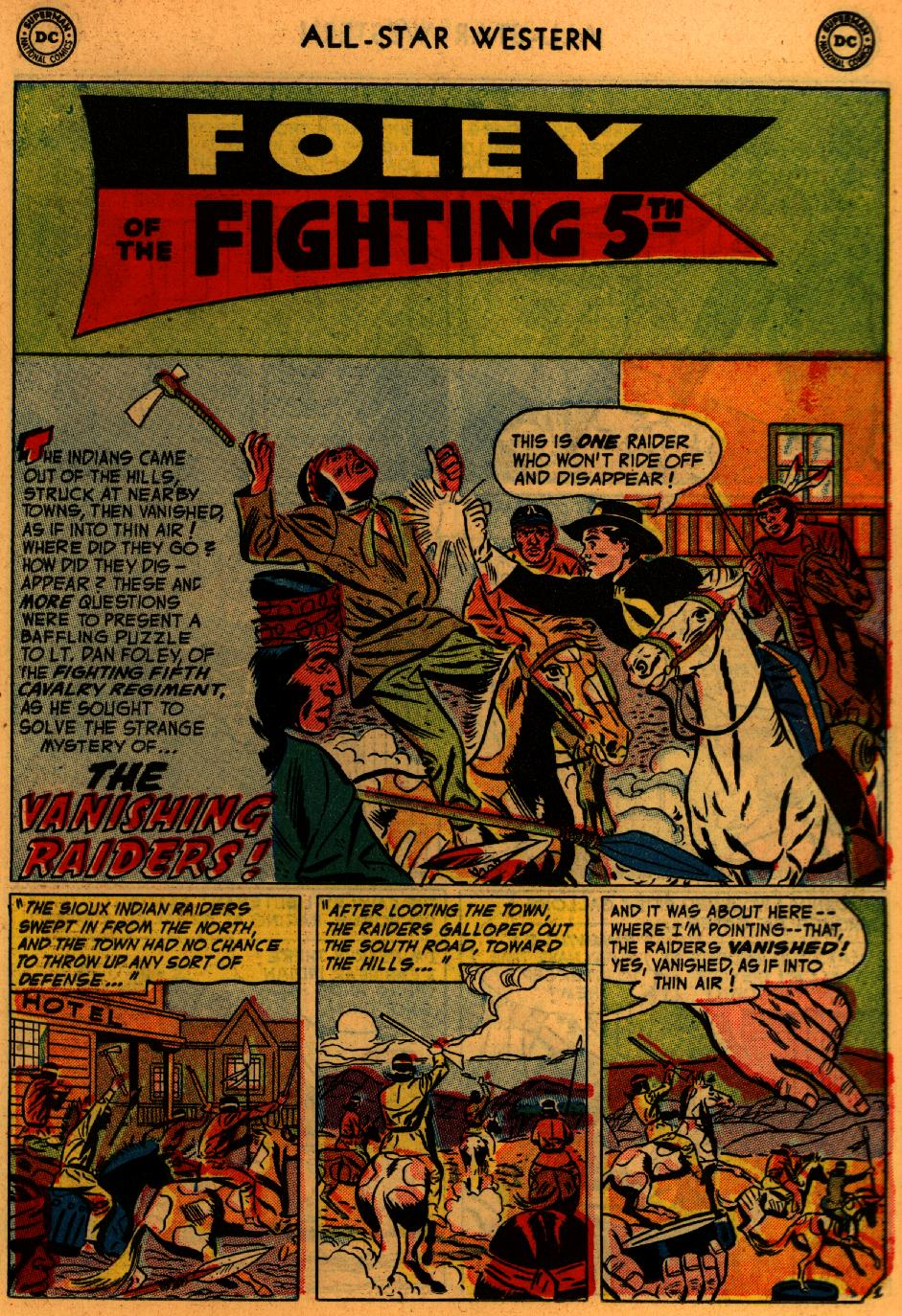 Read online All-Star Western (1951) comic -  Issue #73 - 19