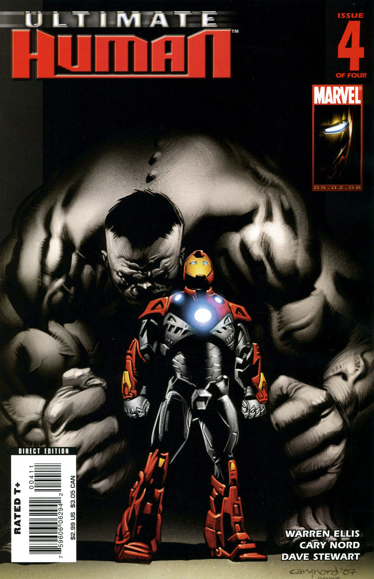 Read online Ultimate Human comic -  Issue #4 - 1