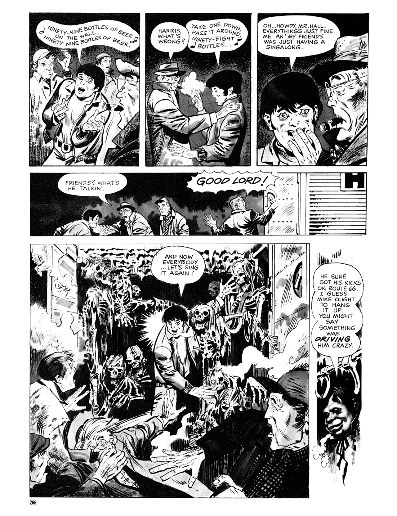 Read online Eerie Archives comic -  Issue # TPB 8 - 267
