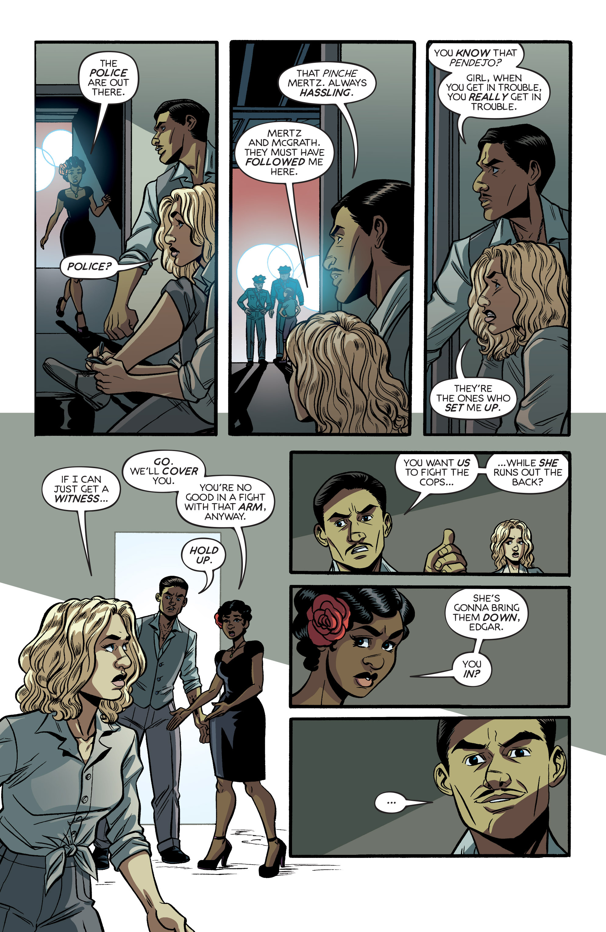 Read online Angel City comic -  Issue #5 - 23