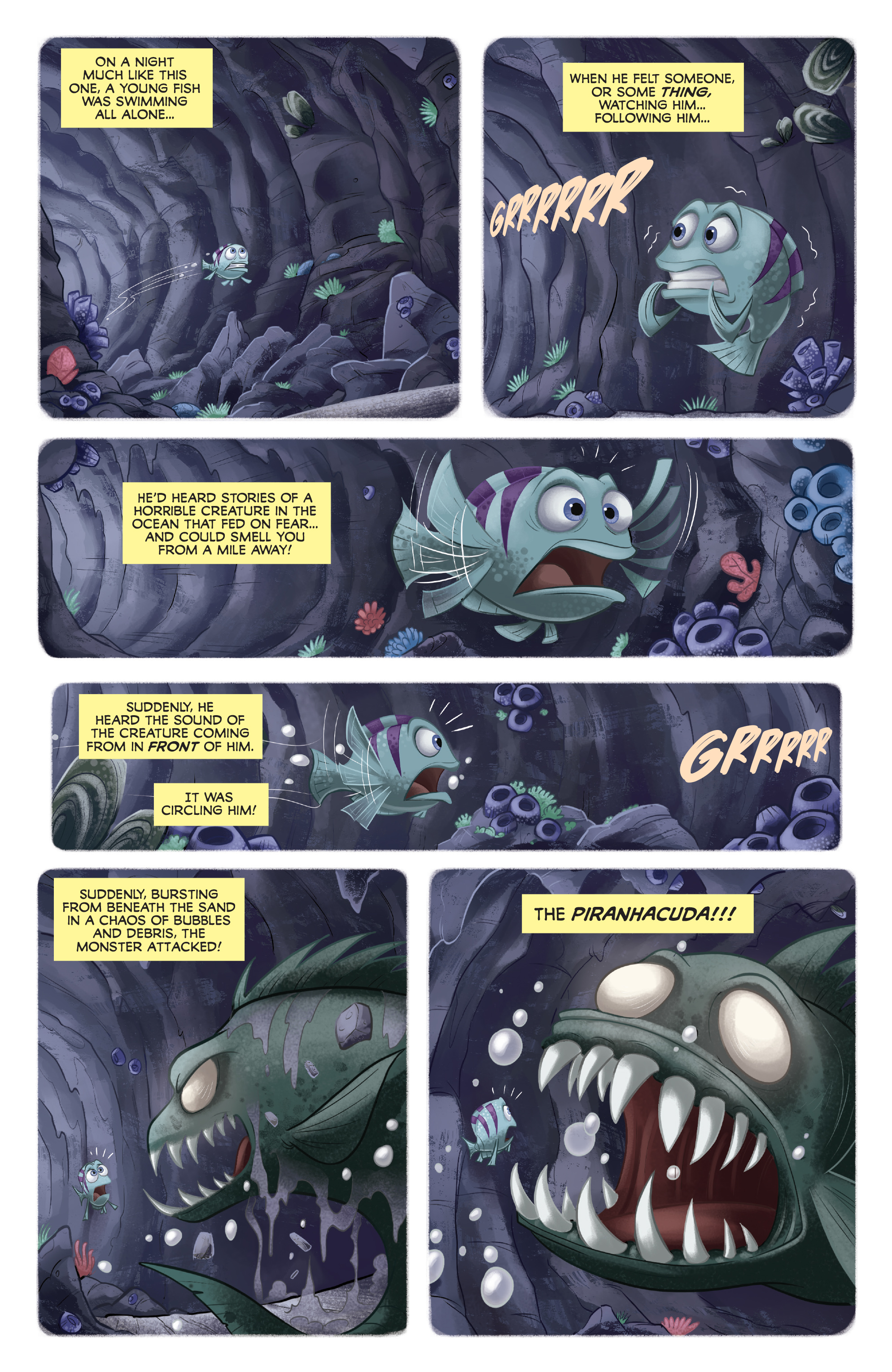 Read online Disney Pixar Finding Dory comic -  Issue #4 - 10