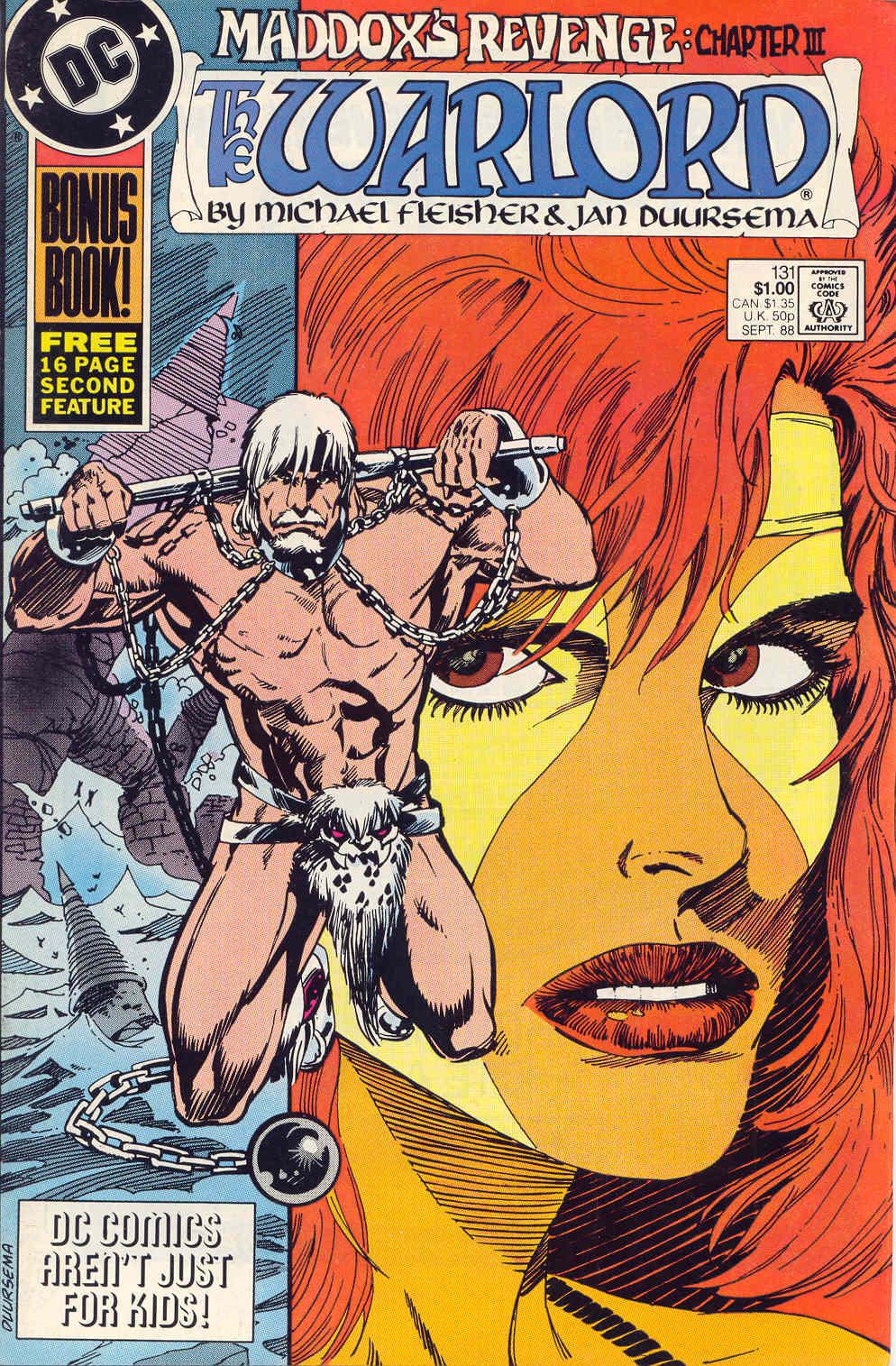 Warlord (1976) 131 Page 1