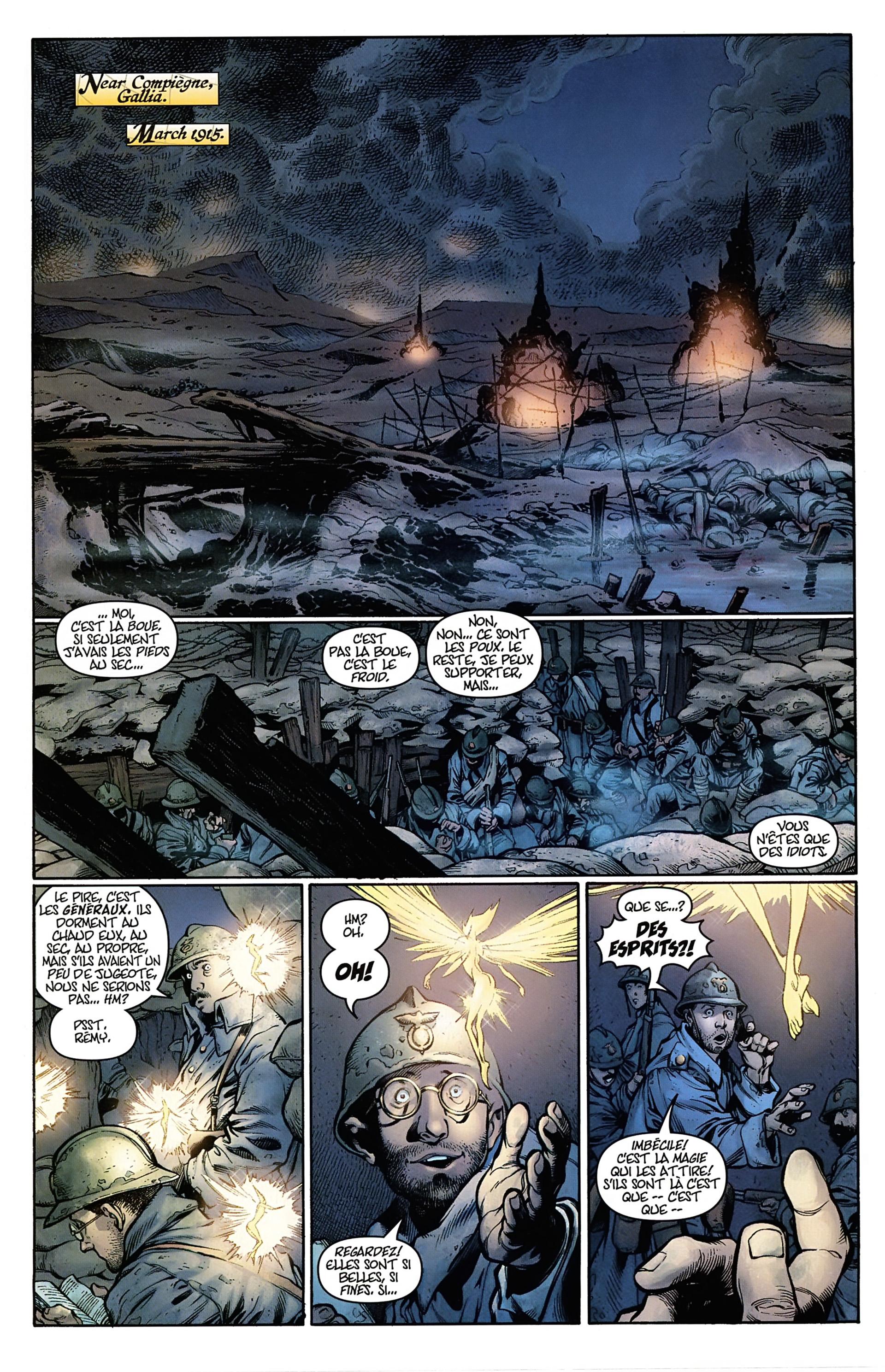 Read online Arrowsmith comic -  Issue #1 - 2