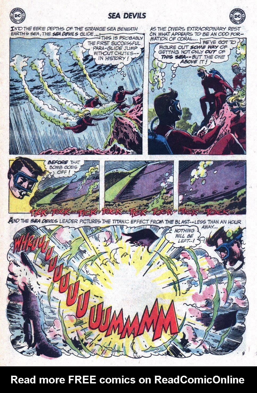Read online Sea Devils comic -  Issue #9 - 14