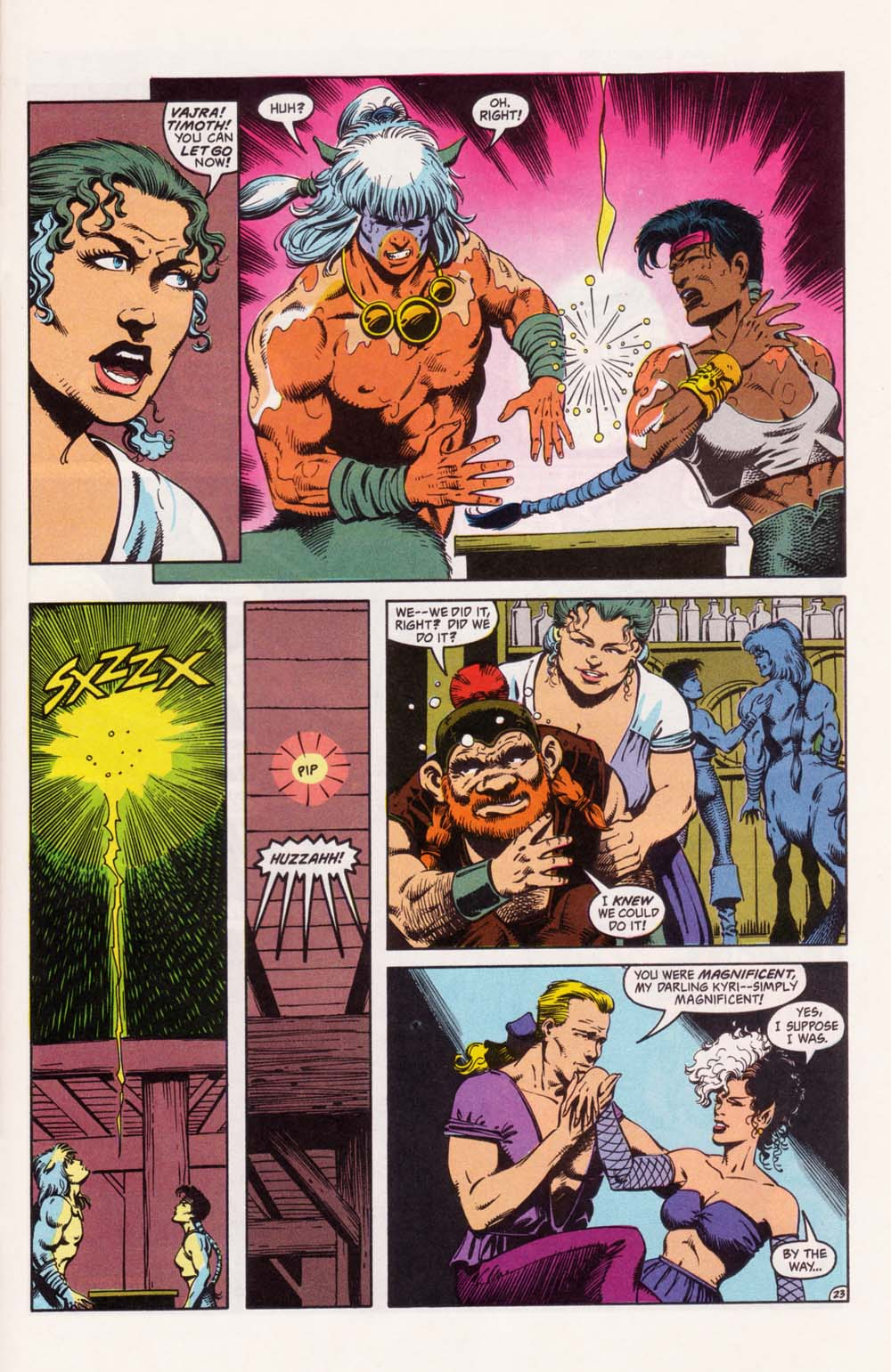 Read online Advanced Dungeons & Dragons comic -  Issue #33 - 23