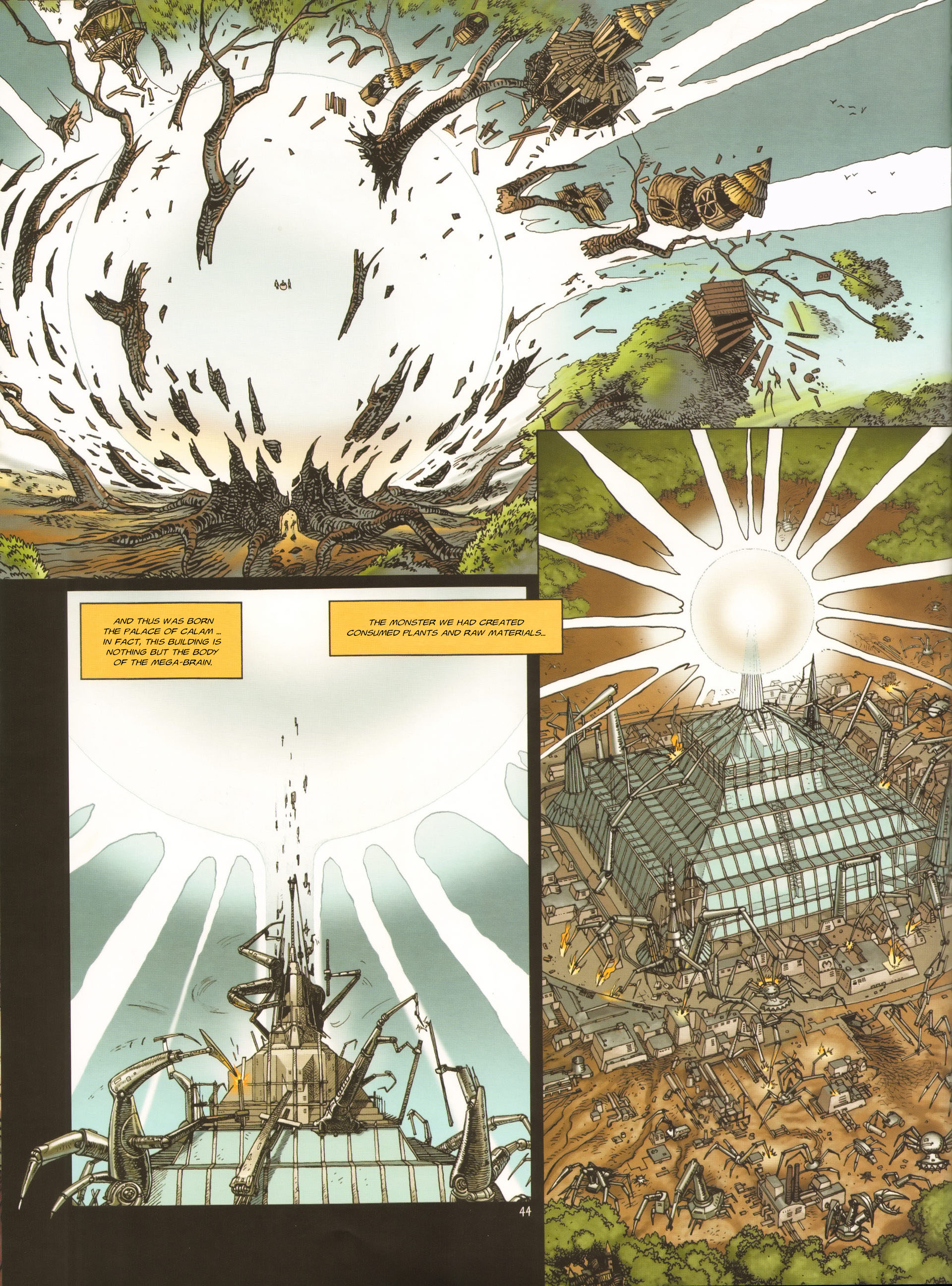 Read online Megalex (2014) comic -  Issue #3 - 47