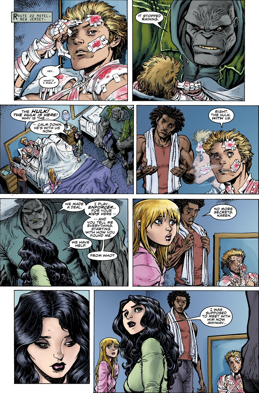 Read online Ultimate X comic -  Issue #5 - 17