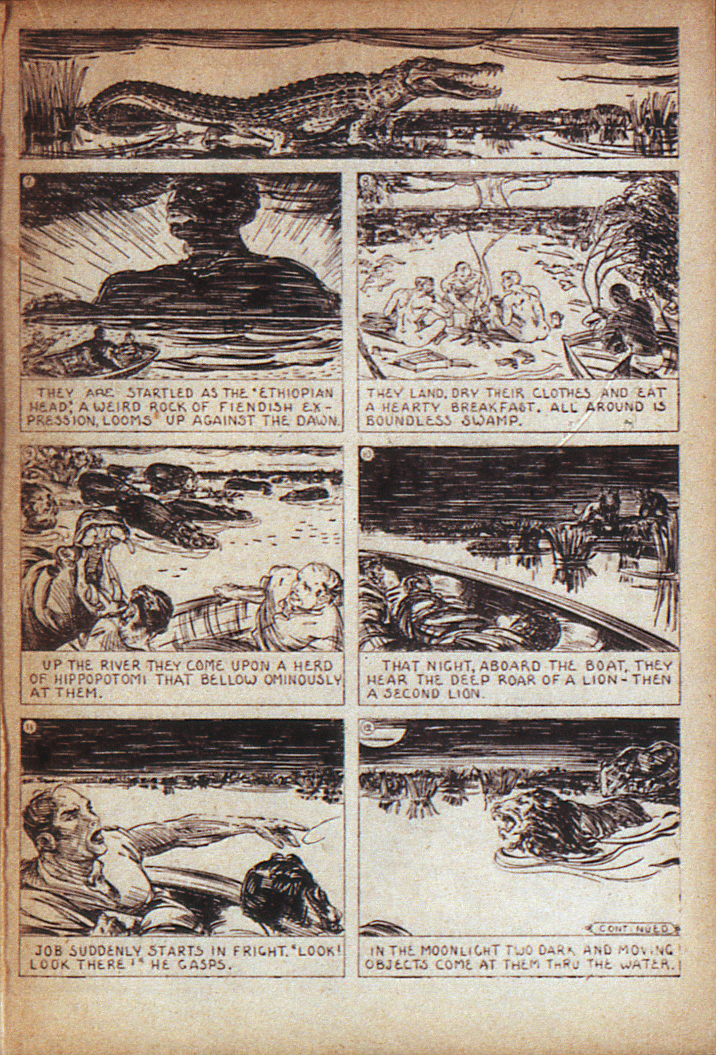 Read online Adventure Comics (1938) comic -  Issue #7 - 37