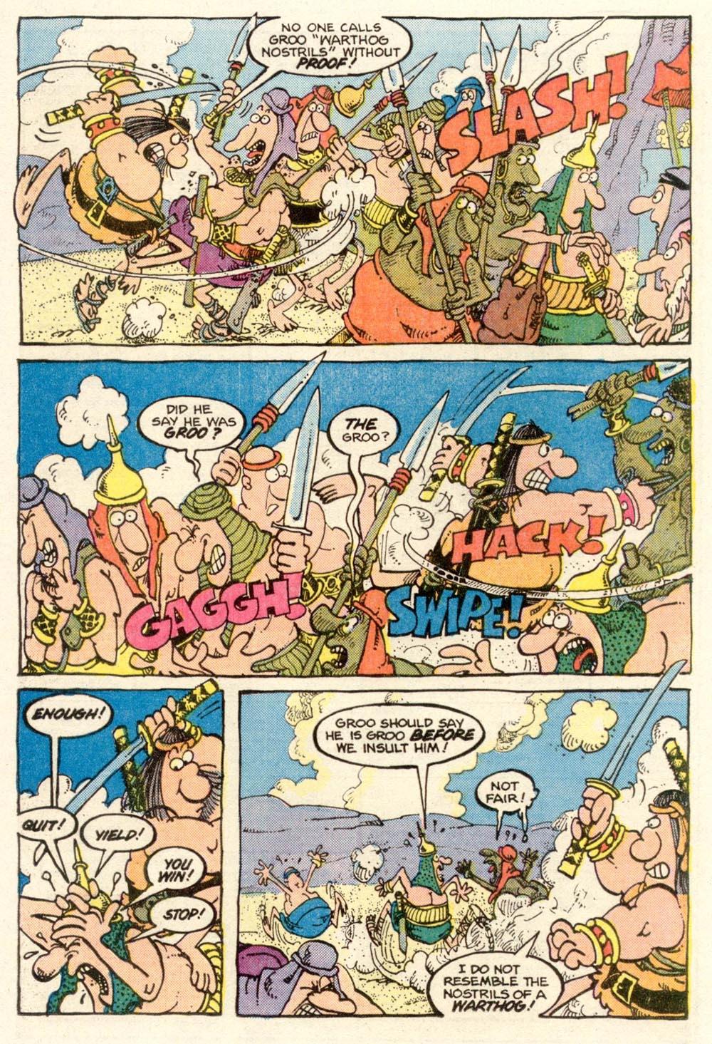 Read online Sergio Aragonés Groo the Wanderer comic -  Issue #14 - 17