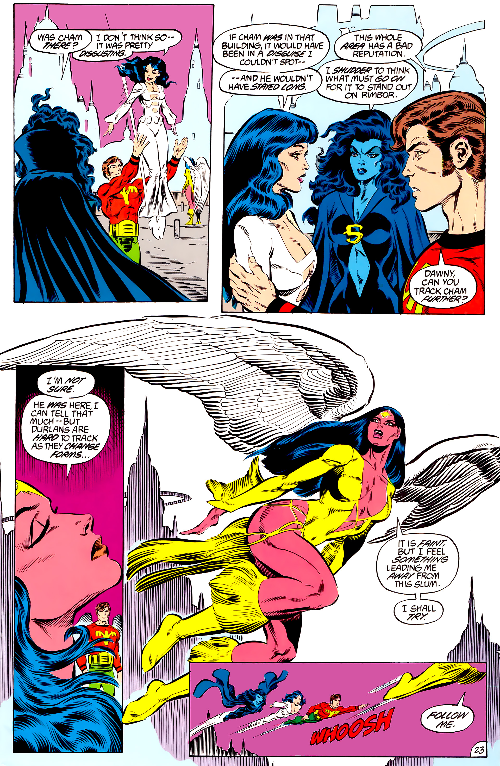 Legion of Super-Heroes (1984) 46 Page 23