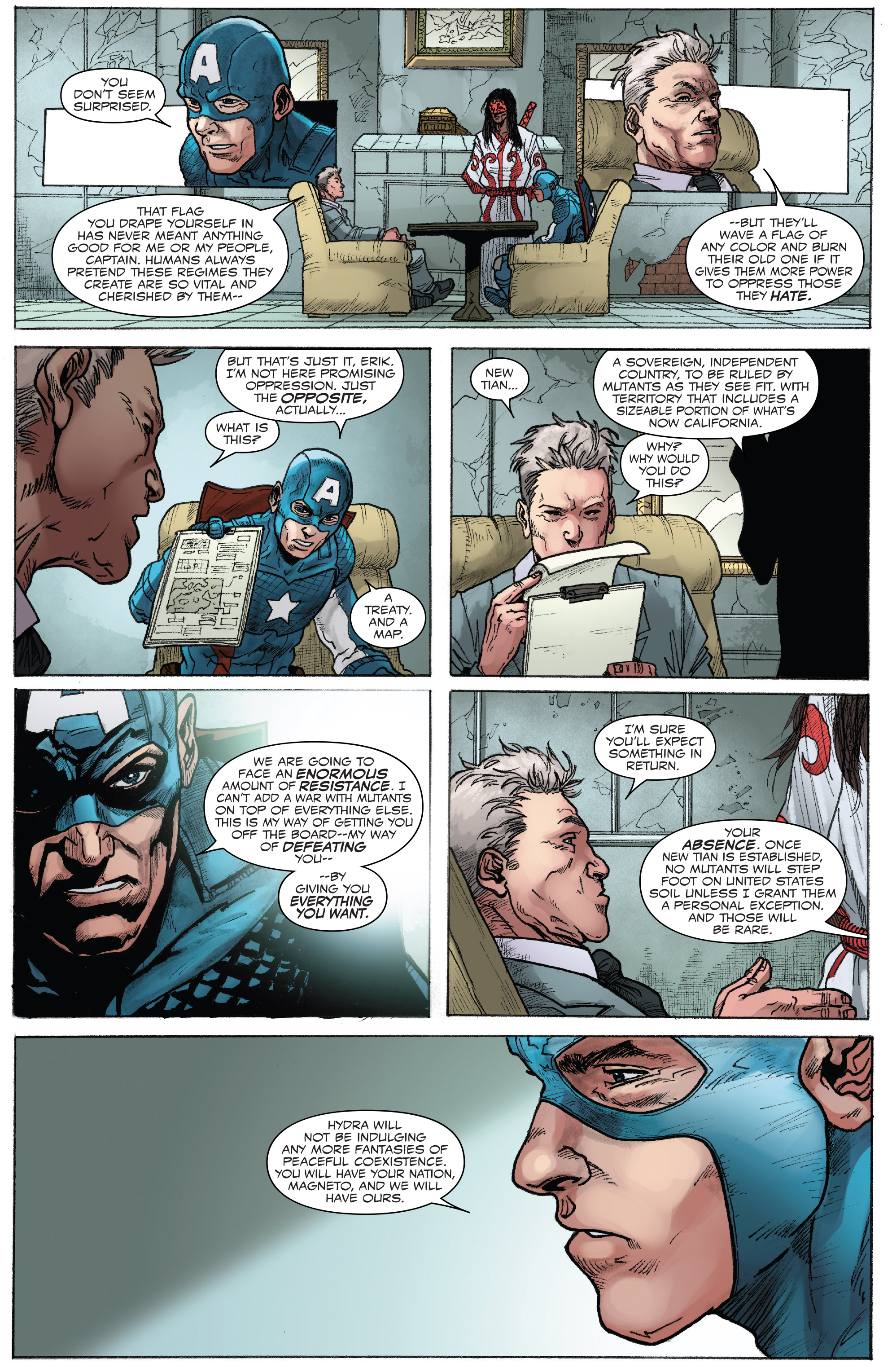 Read online Captain America: Steve Rogers comic -  Issue #17 - 14