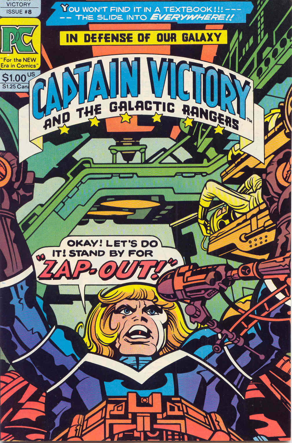 Captain Victory and the Galactic Rangers (1981) 8 Page 1