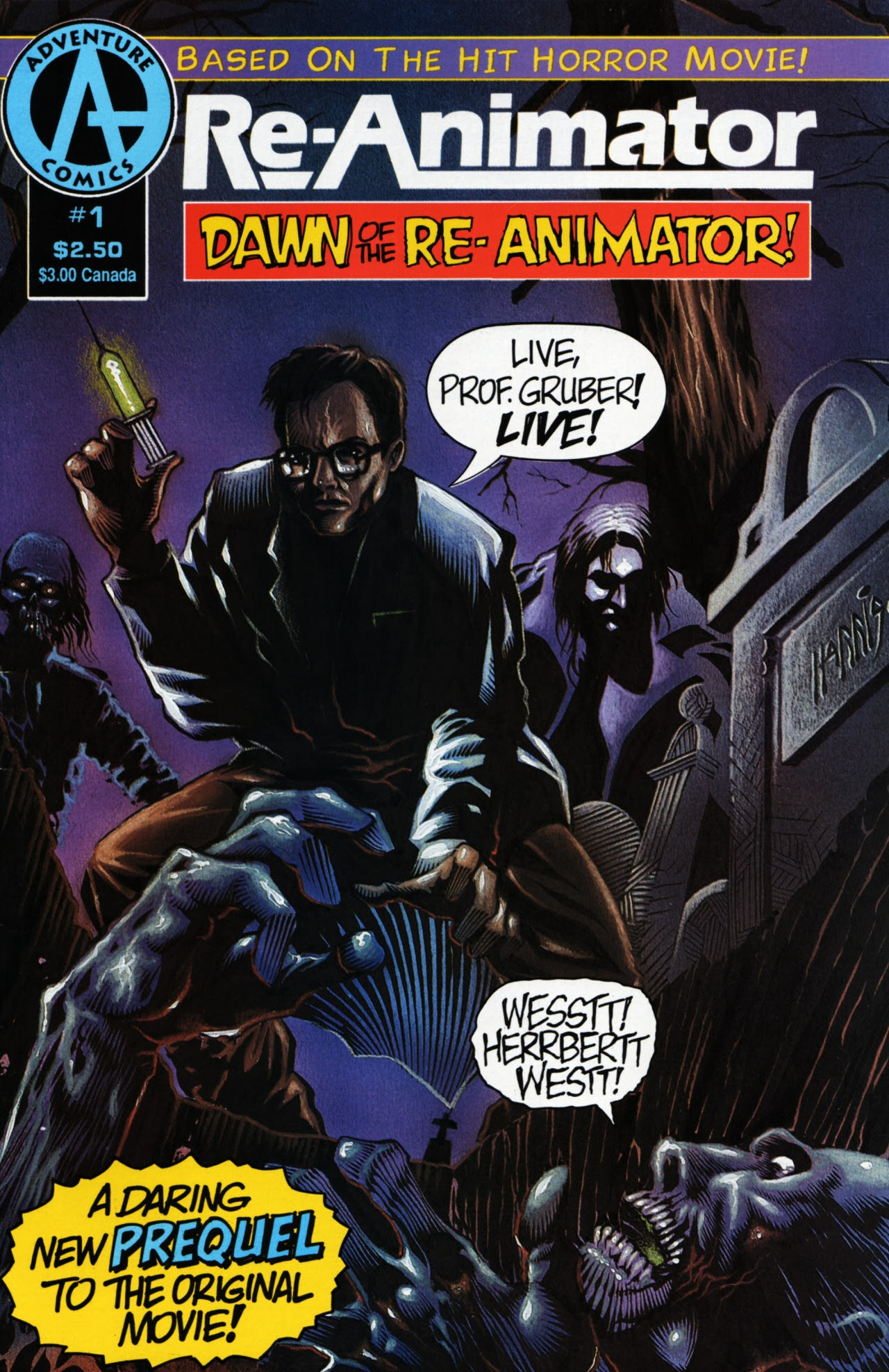 Re-Animator: Dawn of the Re-animator issue 1 - Page 1