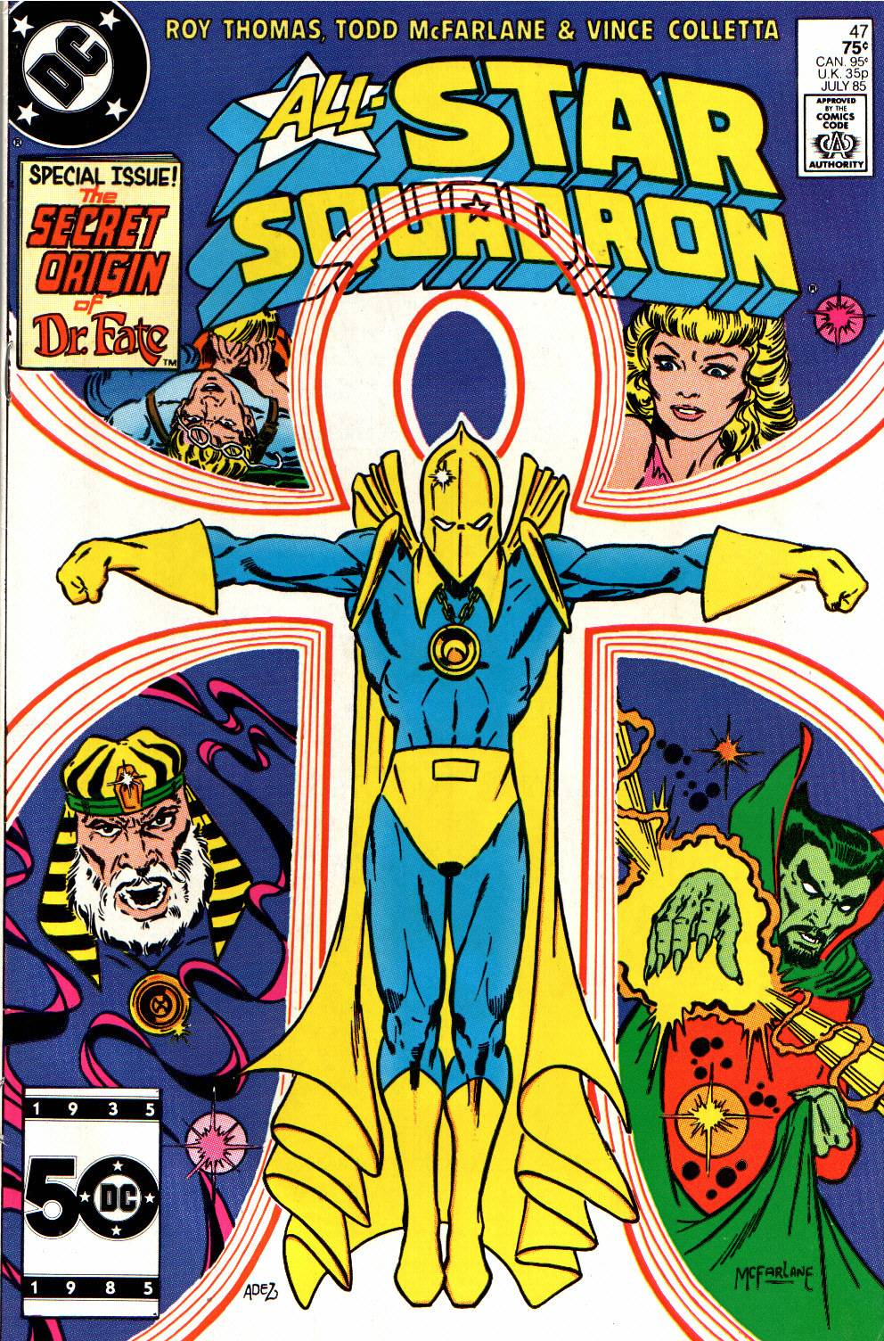 Read online All-Star Squadron comic -  Issue #47 - 1