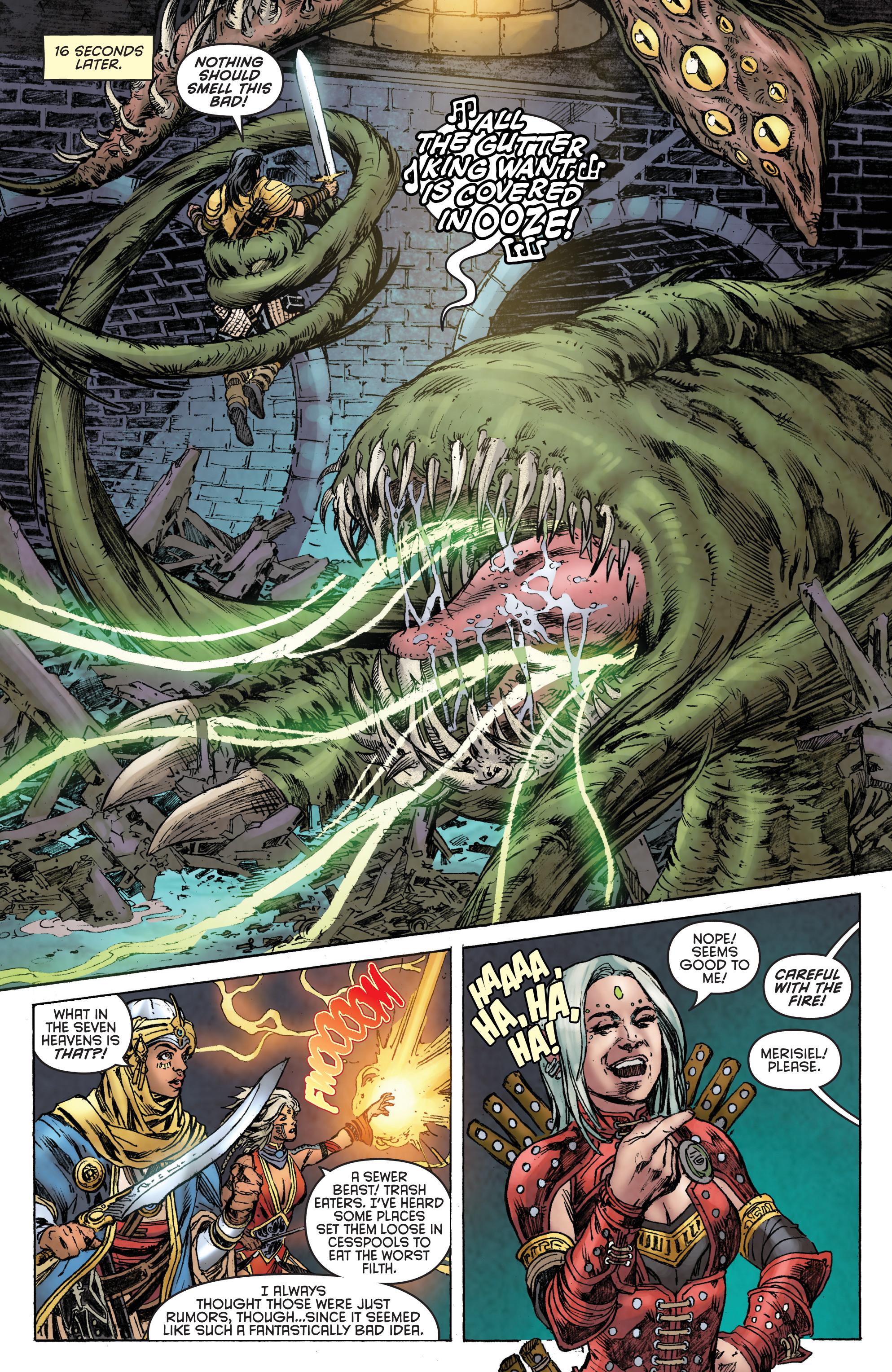 Read online Pathfinder: Runescars comic -  Issue #1 - 18
