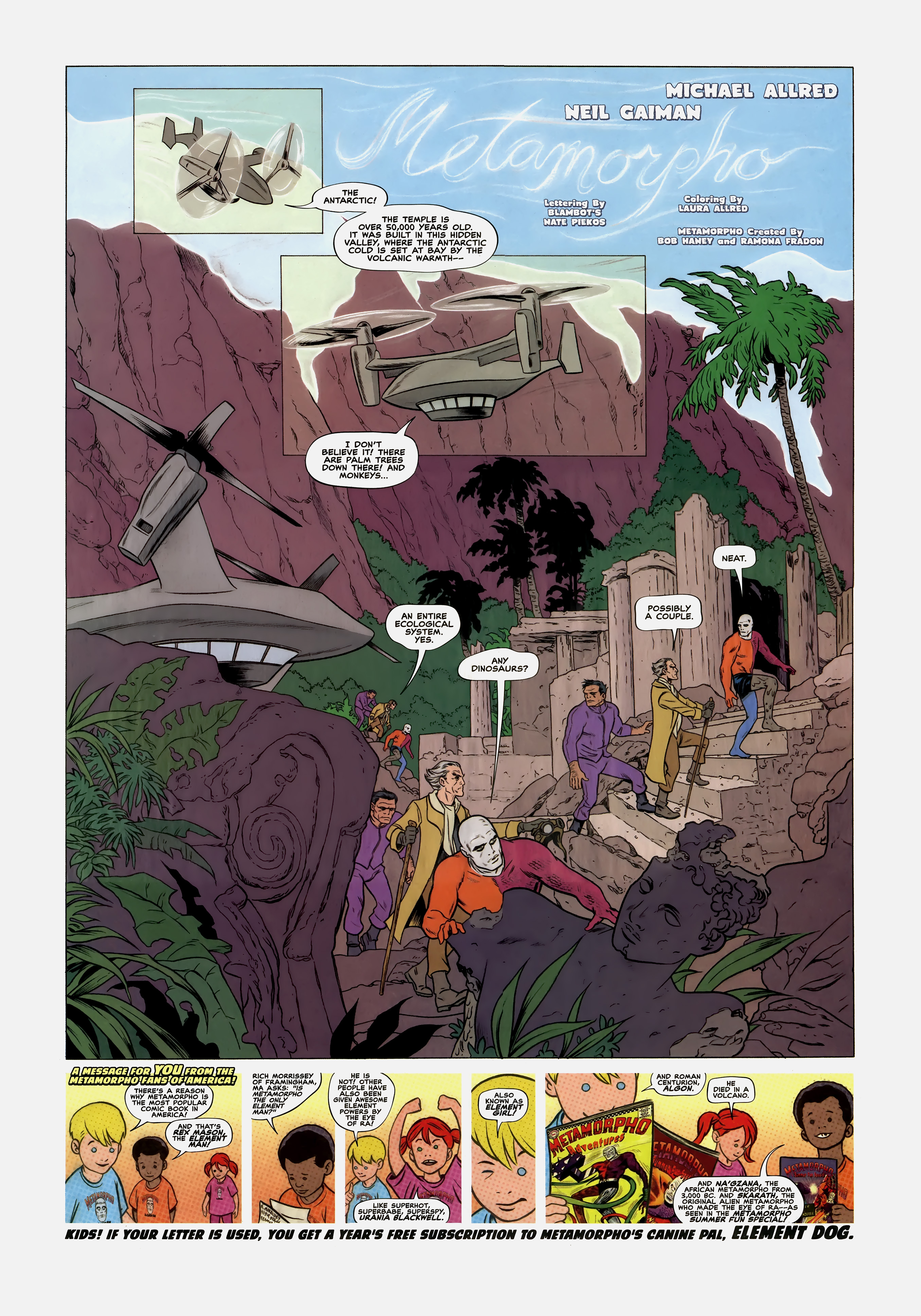 Read online Wednesday Comics comic -  Issue #2 - 7