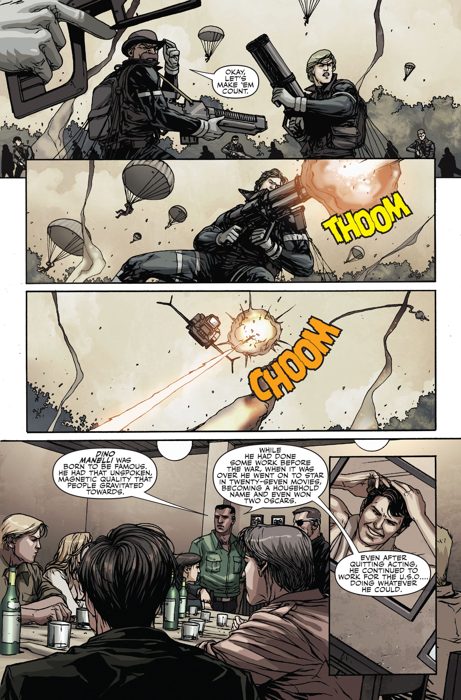 Read online Secret Warriors comic -  Issue #19 - 8