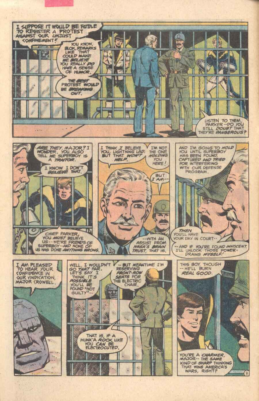 Legion of Super-Heroes (1980) 282 Page 2
