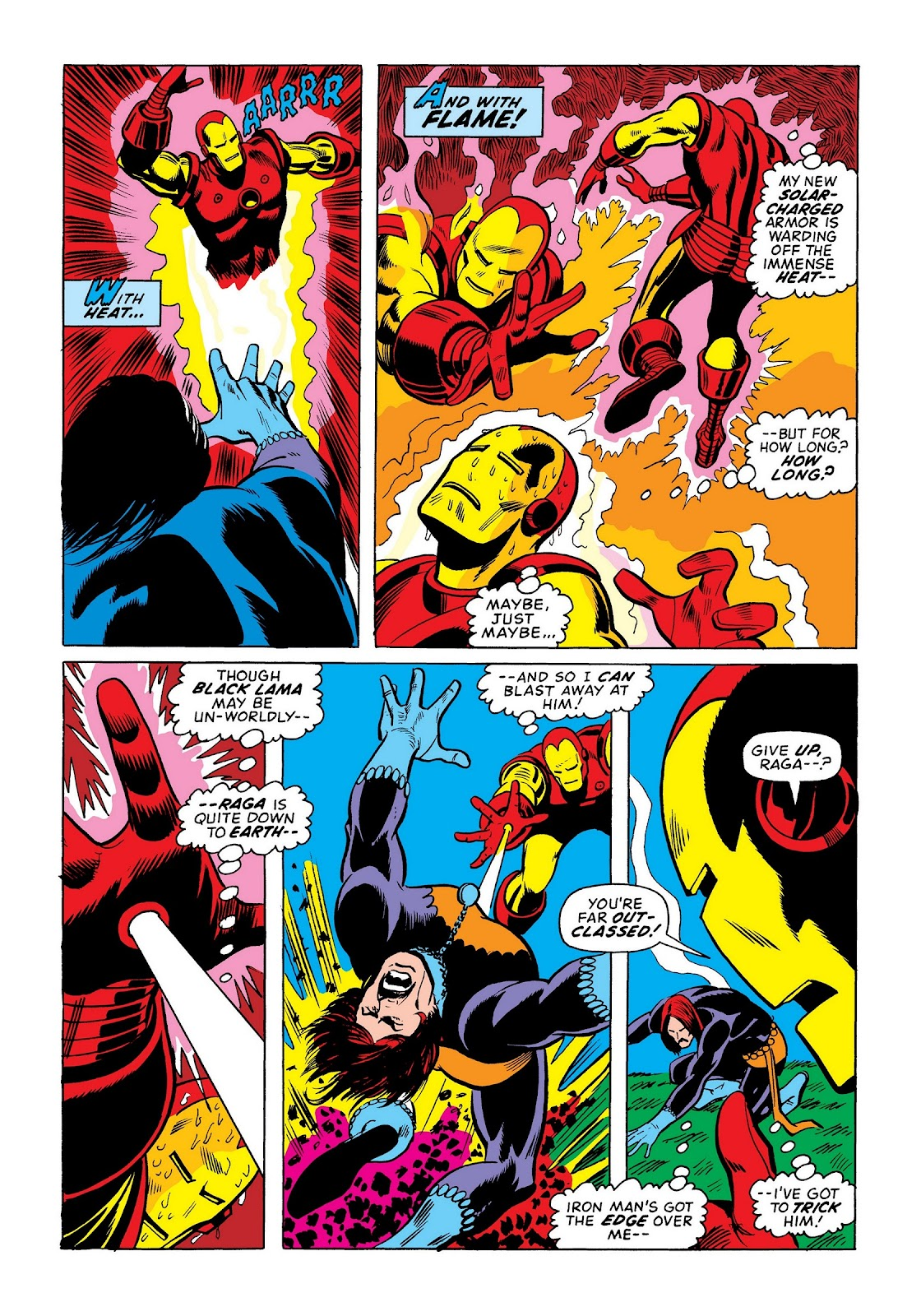 Read online Marvel Masterworks: The Invincible Iron Man comic -  Issue # TPB 8 (Part 3) - 108