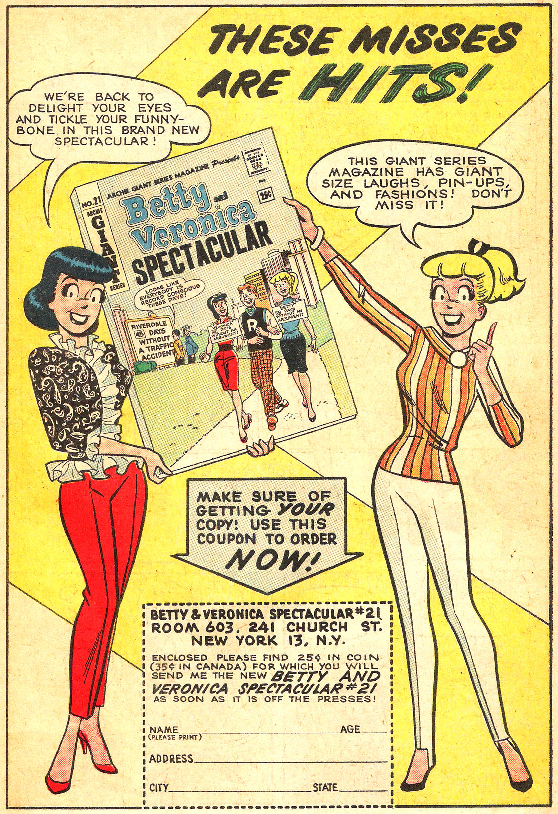 Read online Archie's Girls Betty and Veronica comic -  Issue #87 - 19