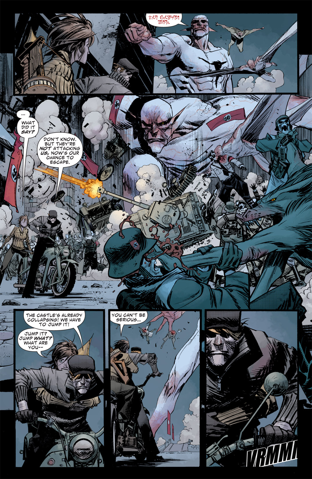 Read online American Vampire: Survival of the Fittest comic -  Issue #5 - 3