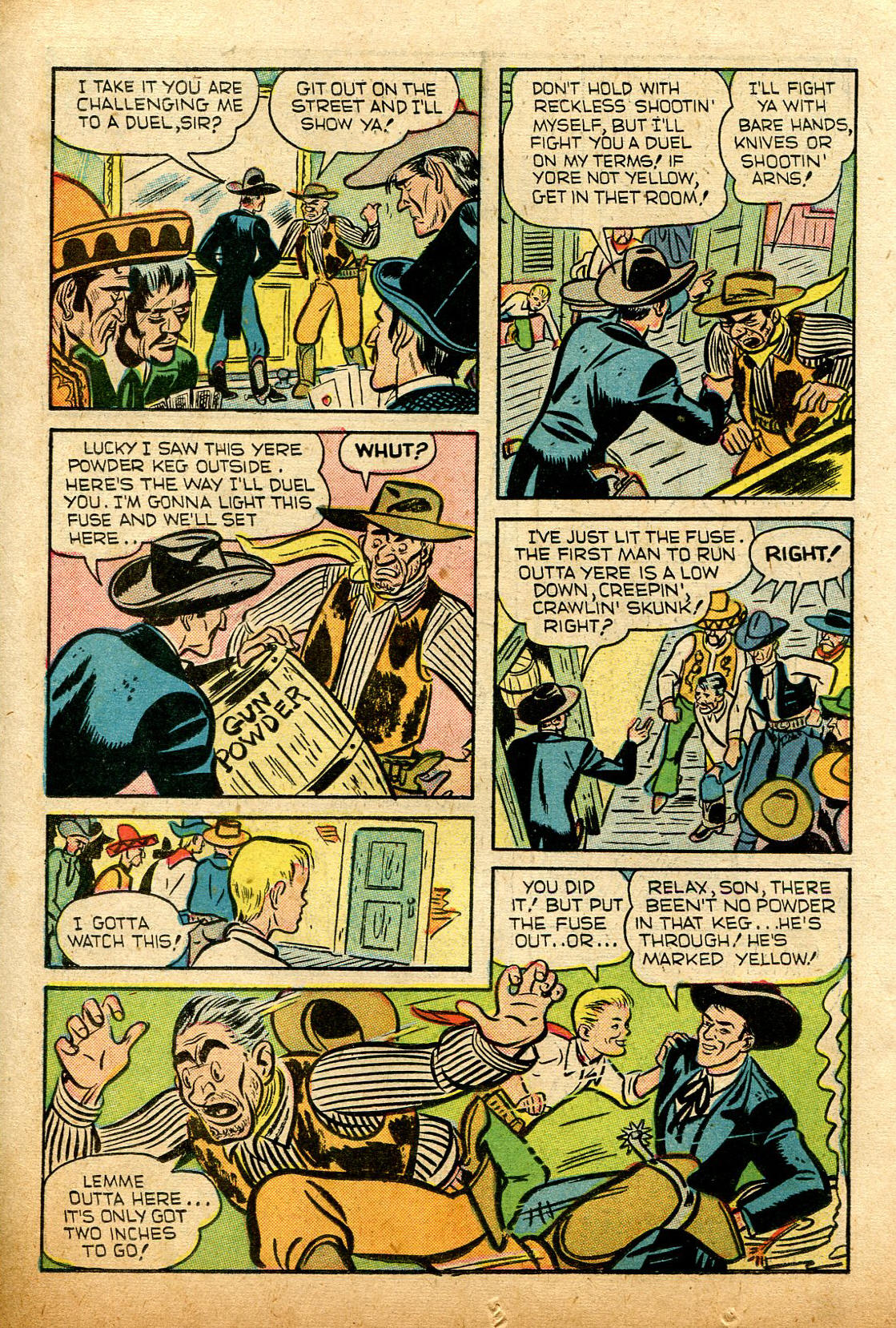 Read online Shadow Comics comic -  Issue #74 - 22