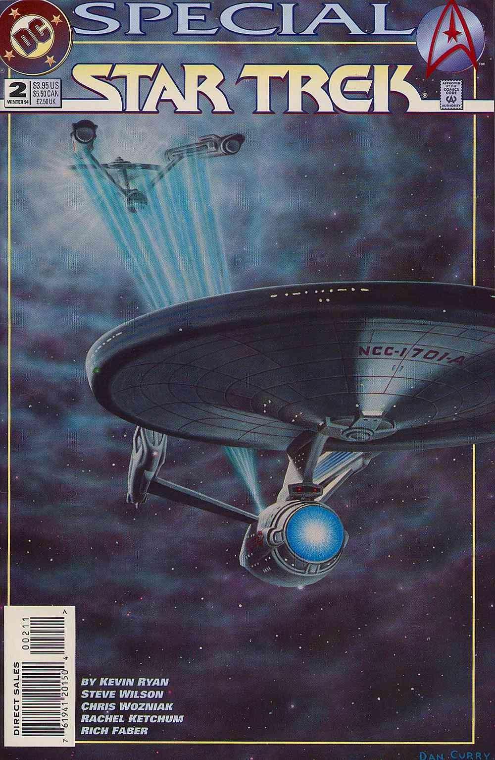 Read online Star Trek (1989) comic -  Issue # _Special 2 - 1