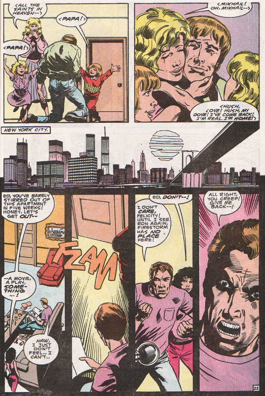 Firestorm, the Nuclear Man Issue #100 #36 - English 23