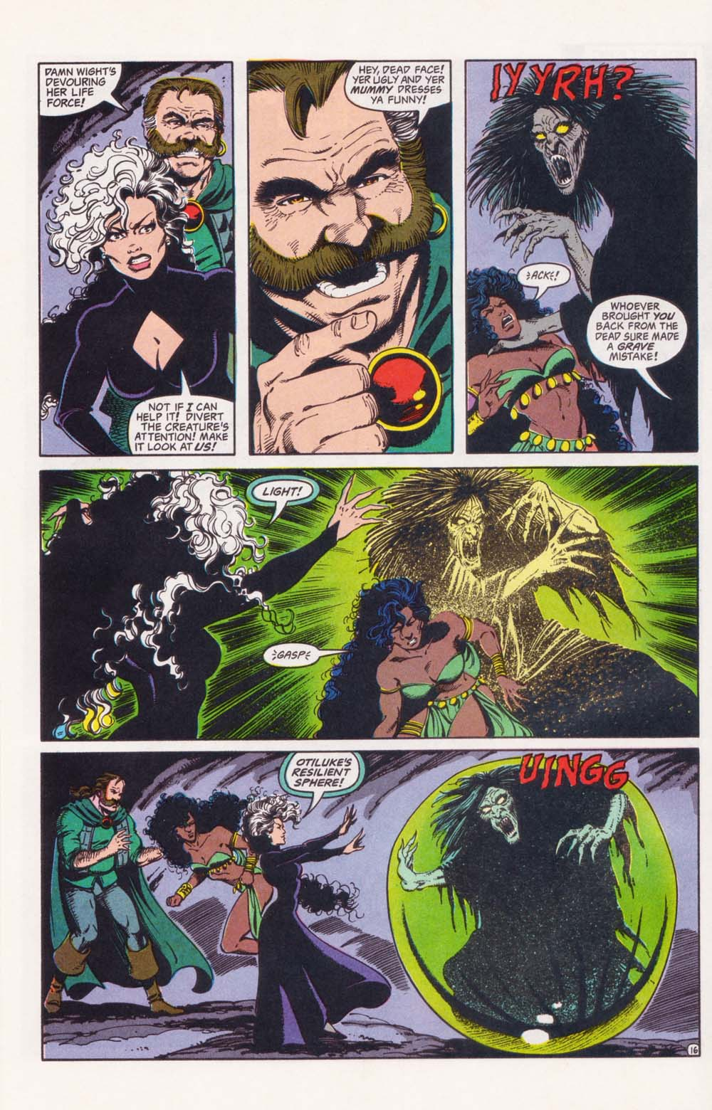 Read online Advanced Dungeons & Dragons comic -  Issue #34 - 16