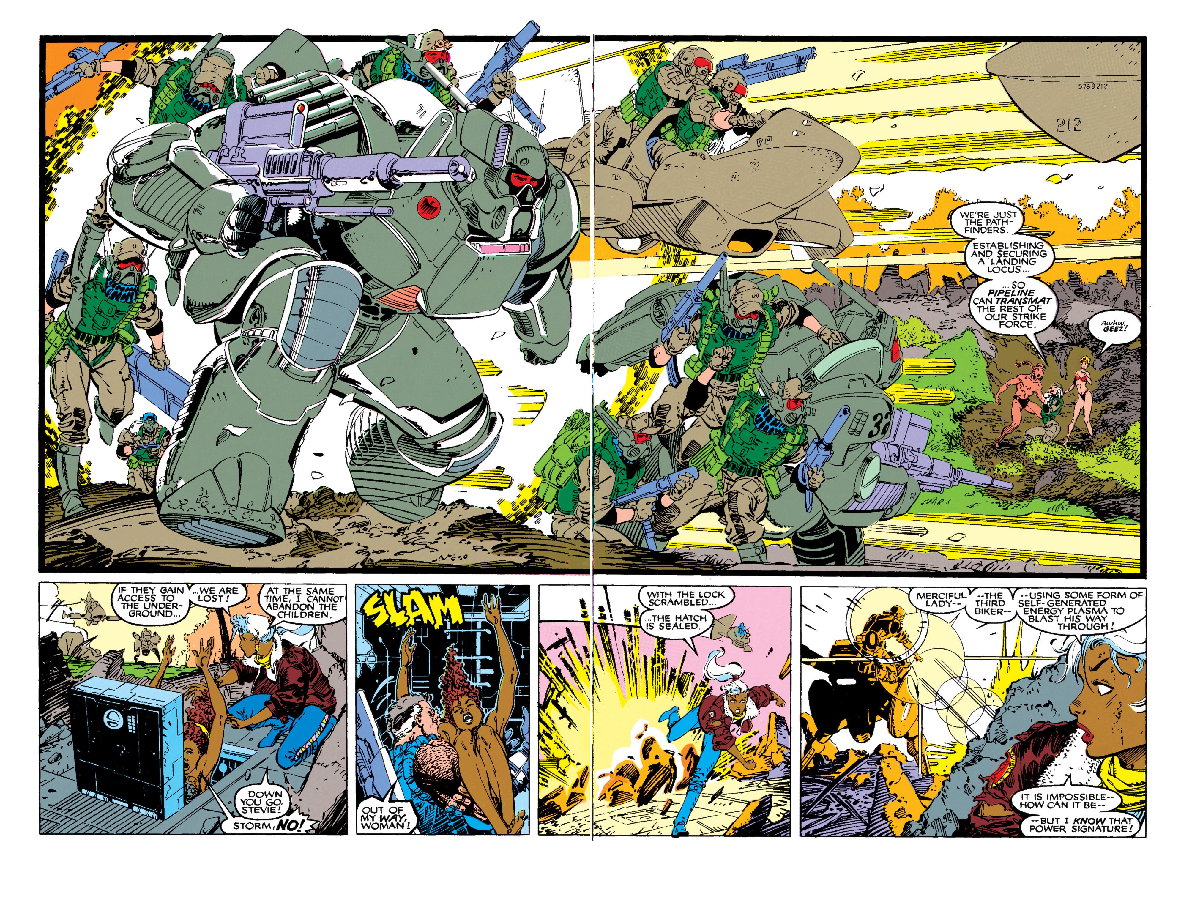 Read online Uncanny X-Men (1963) comic -  Issue #270 - 17