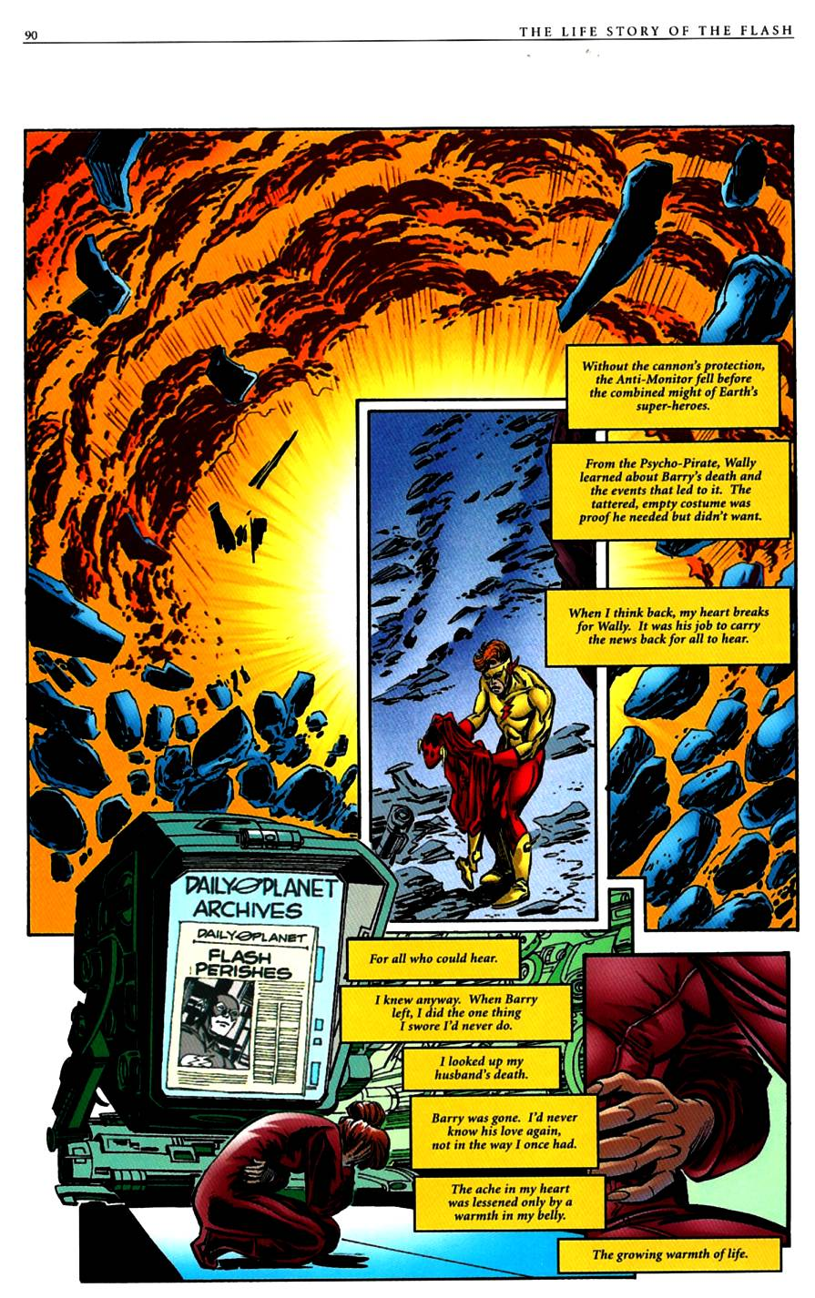 Read online The Life Story of the Flash comic -  Issue # Full - 92