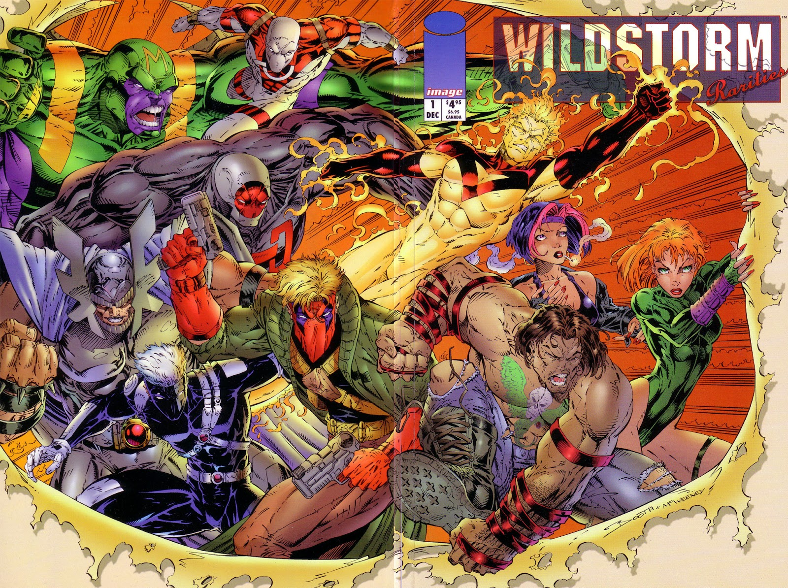 WildStorm Rarities Full Page 1