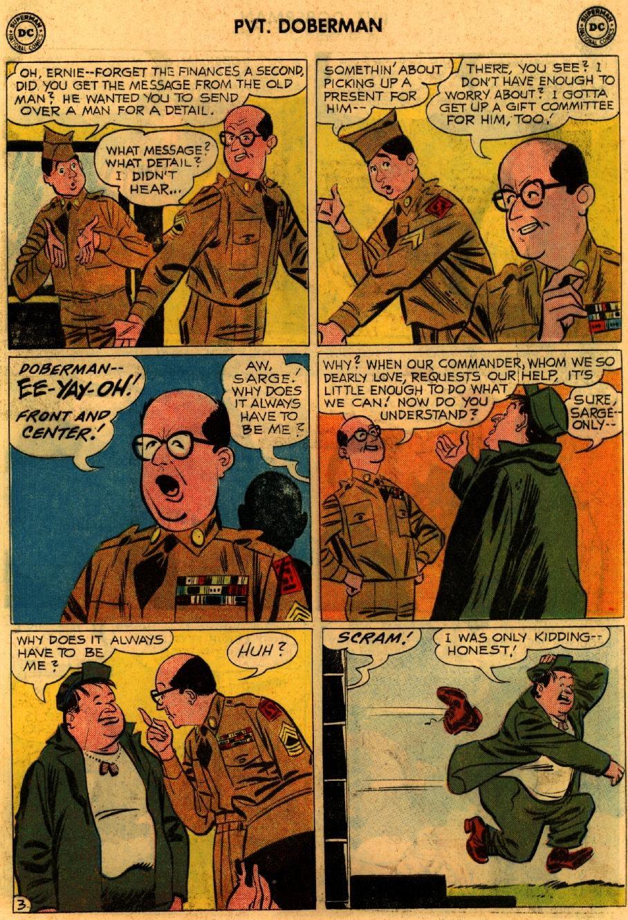 Sgt. Bilko's Pvt. Doberman issue 9 - Page 5