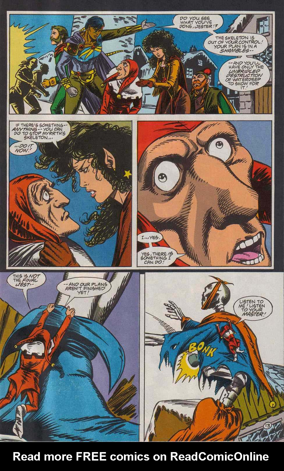 Read online Advanced Dungeons & Dragons comic -  Issue #7 - 14