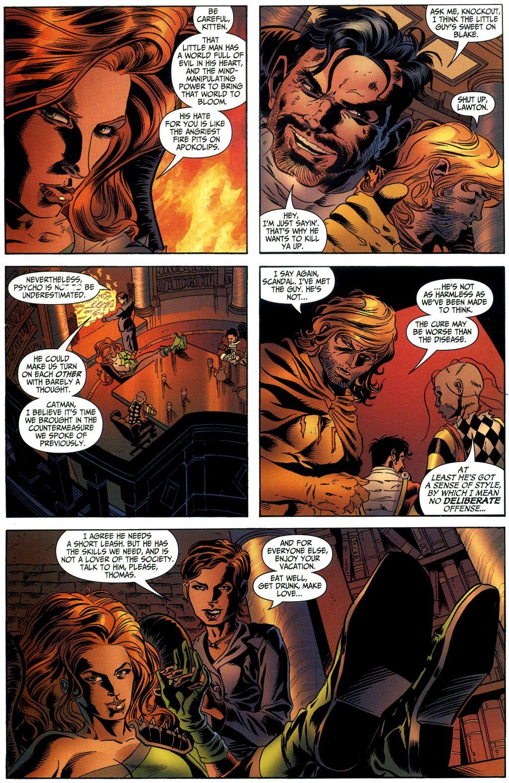 Read online Secret Six (2006) comic -  Issue #1 - 16