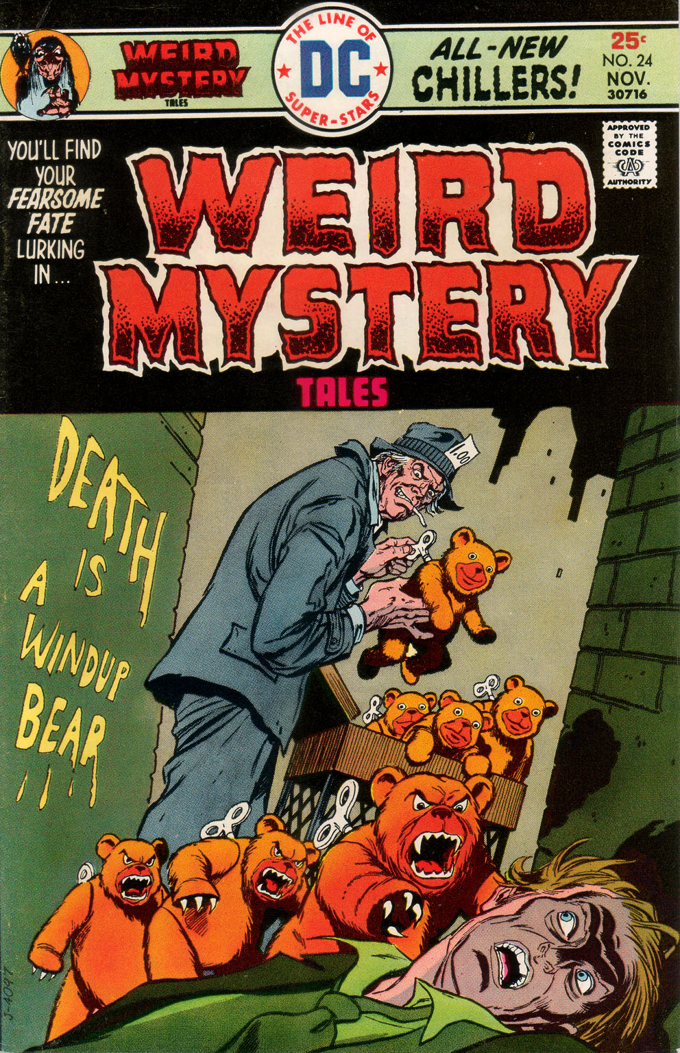 Weird Mystery Tales issue 24 - Page 1