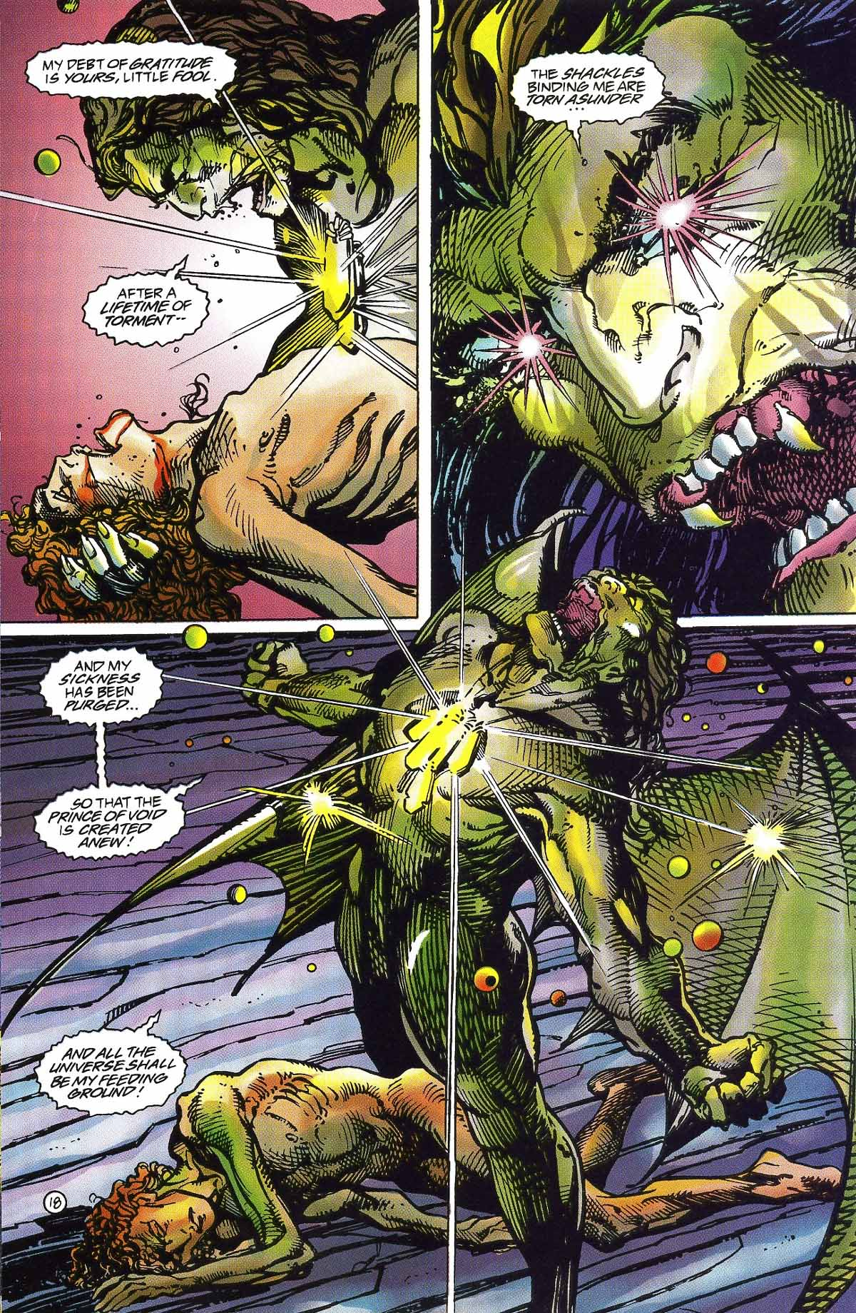 Read online Rune (1994) comic -  Issue #5 - 21