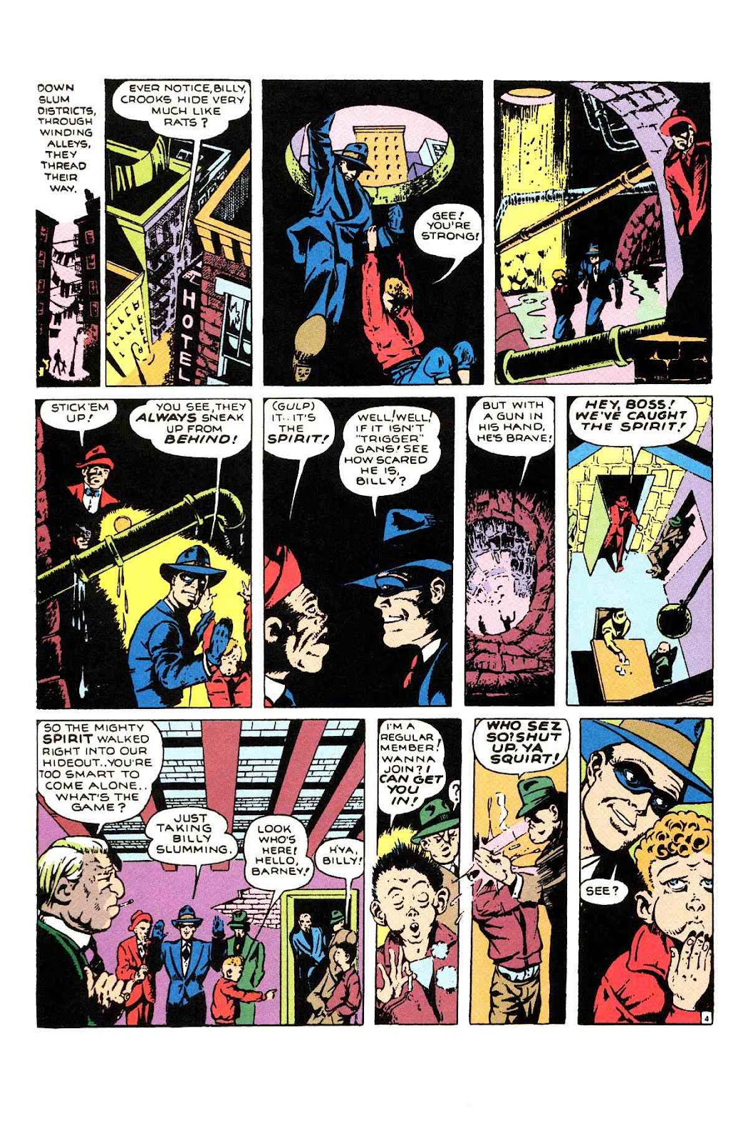Read online Will Eisner's The Spirit Archives comic -  Issue # TPB 1 (Part 1) - 89