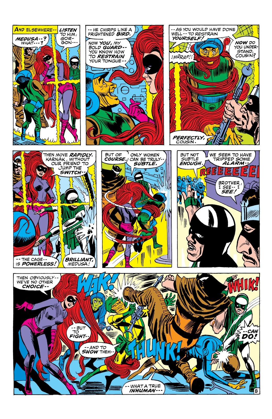 Read online Marvel Masterworks: The Inhumans comic -  Issue # TPB 1 (Part 2) - 86