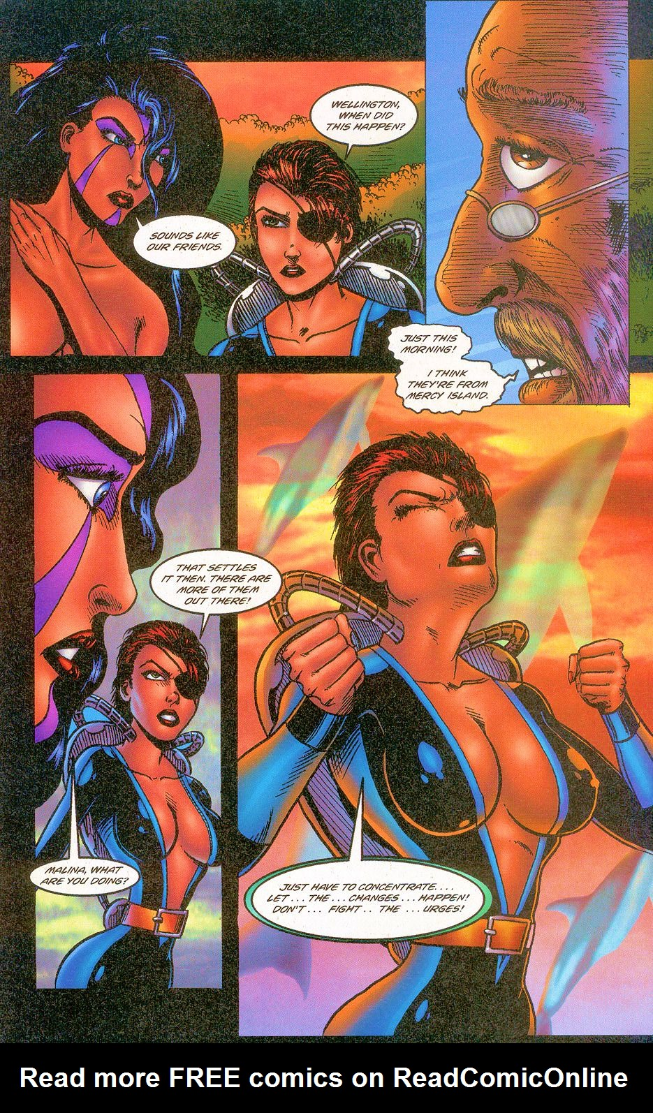 Read online Sisters of Mercy comic -  Issue #2 - 25