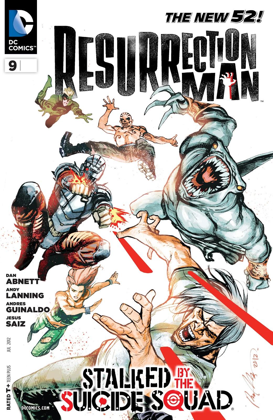 Resurrection Man (2011) 9 Page 1