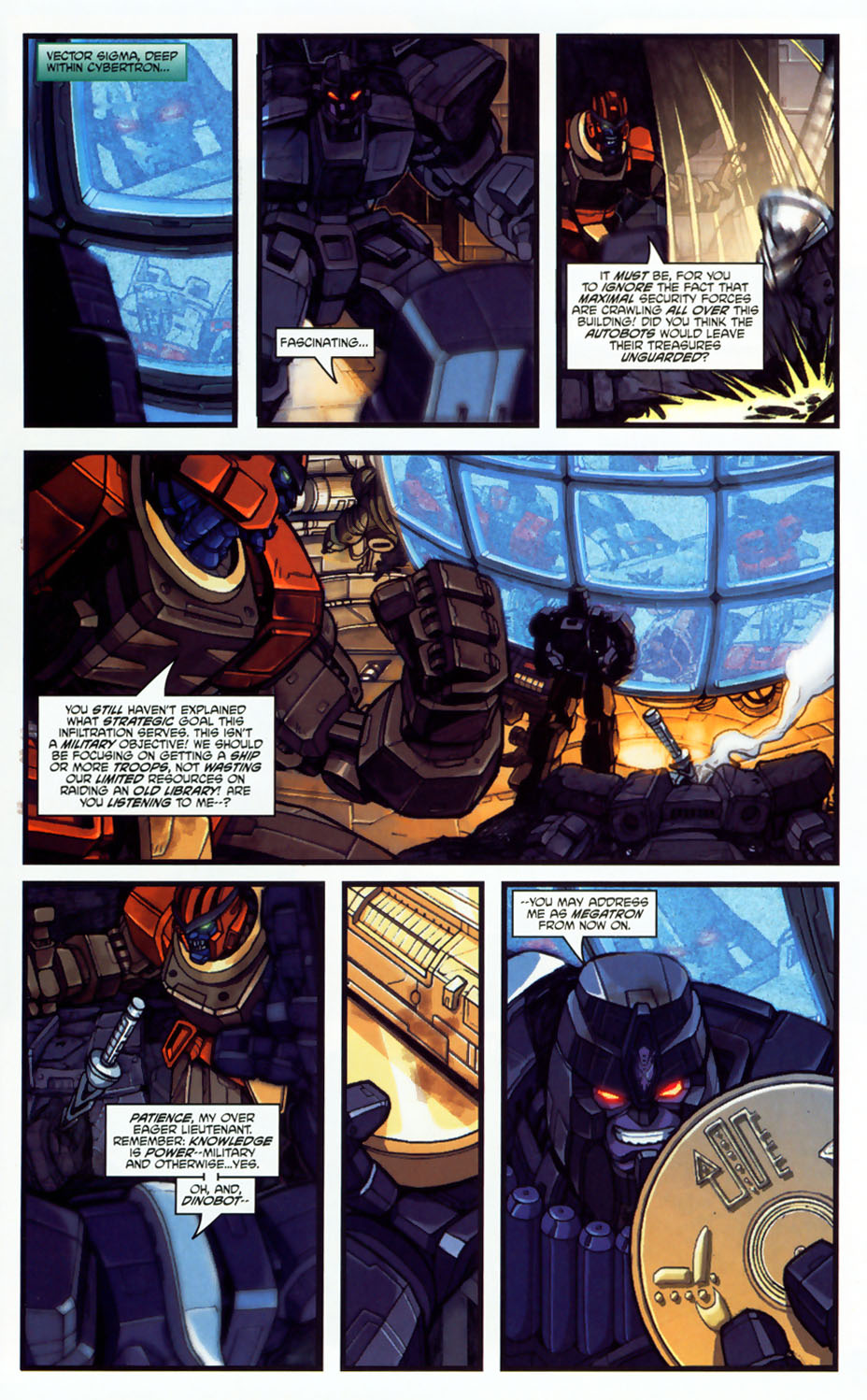 Read online Transformers: More than Meets the Eye comic -  Issue #8 - 57