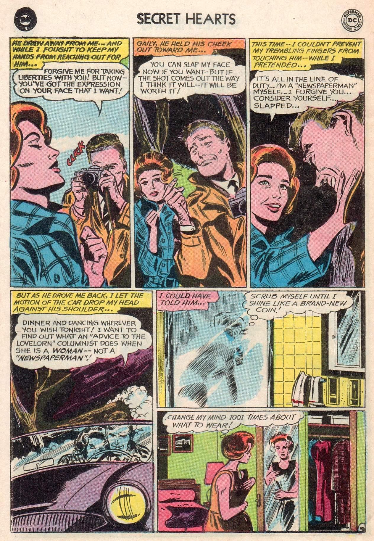 Read online Secret Hearts comic -  Issue #107 - 12