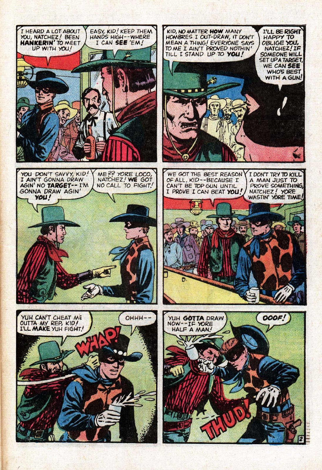 The Mighty Marvel Western issue 15 - Page 35