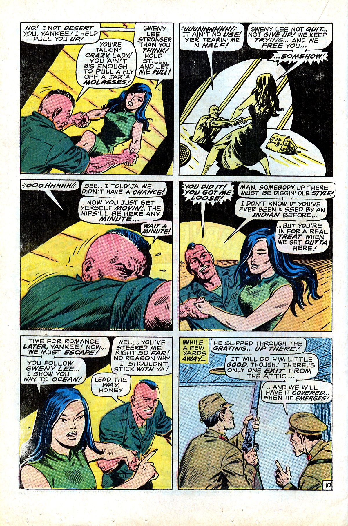 Captain Savage and his Leatherneck Raiders issue 17 - Page 16