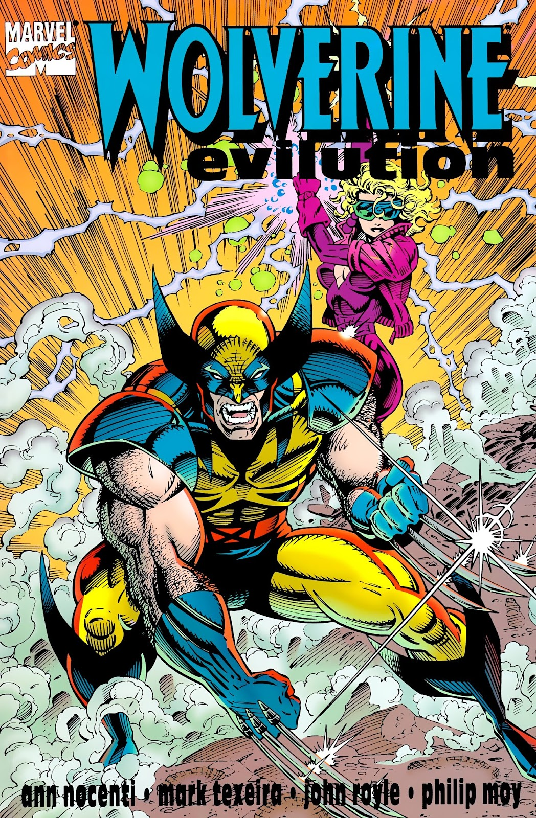 Wolverine: Evilution Full Page 1