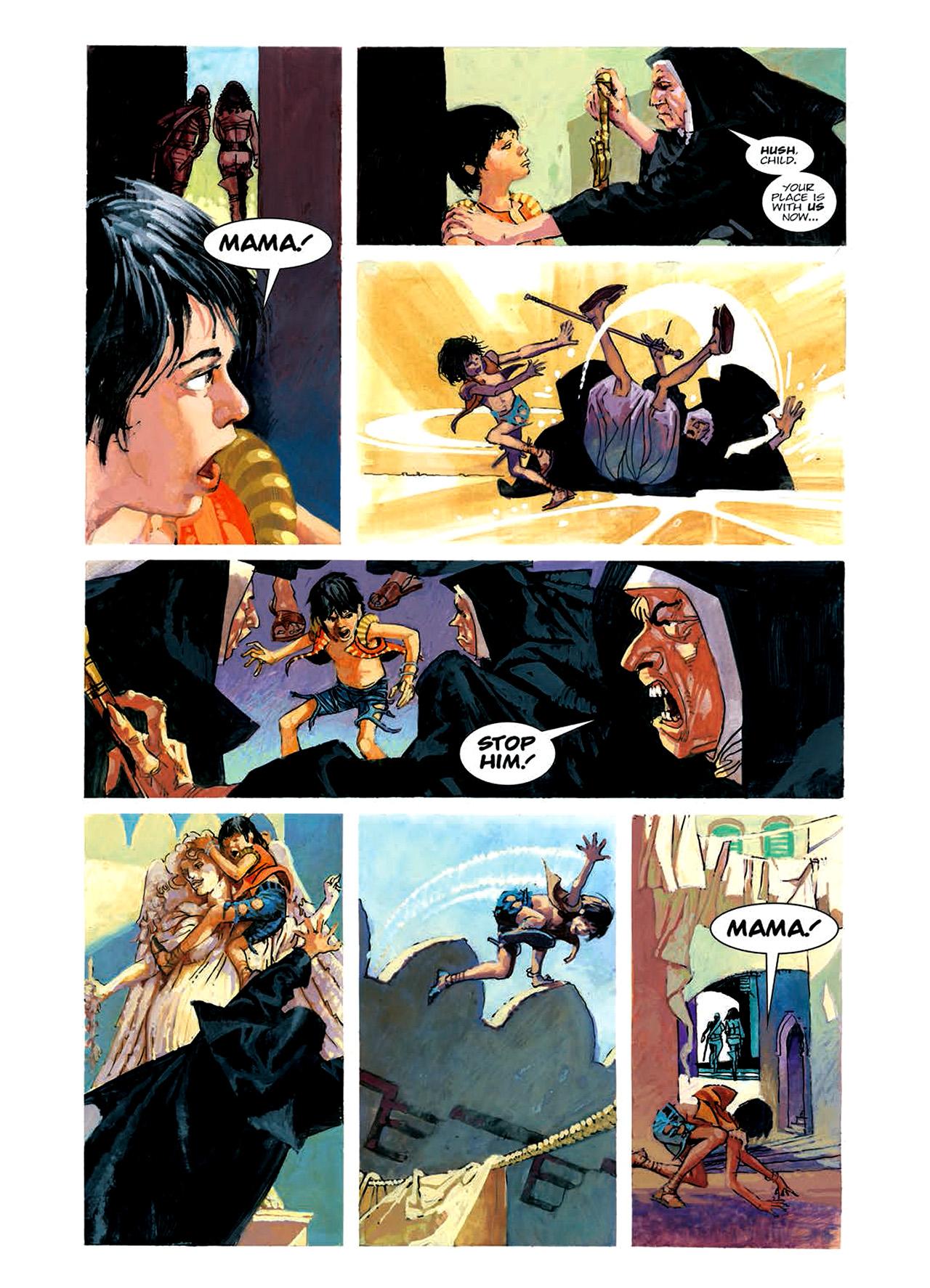 Read online Nikolai Dante comic -  Issue # TPB 6 - 84