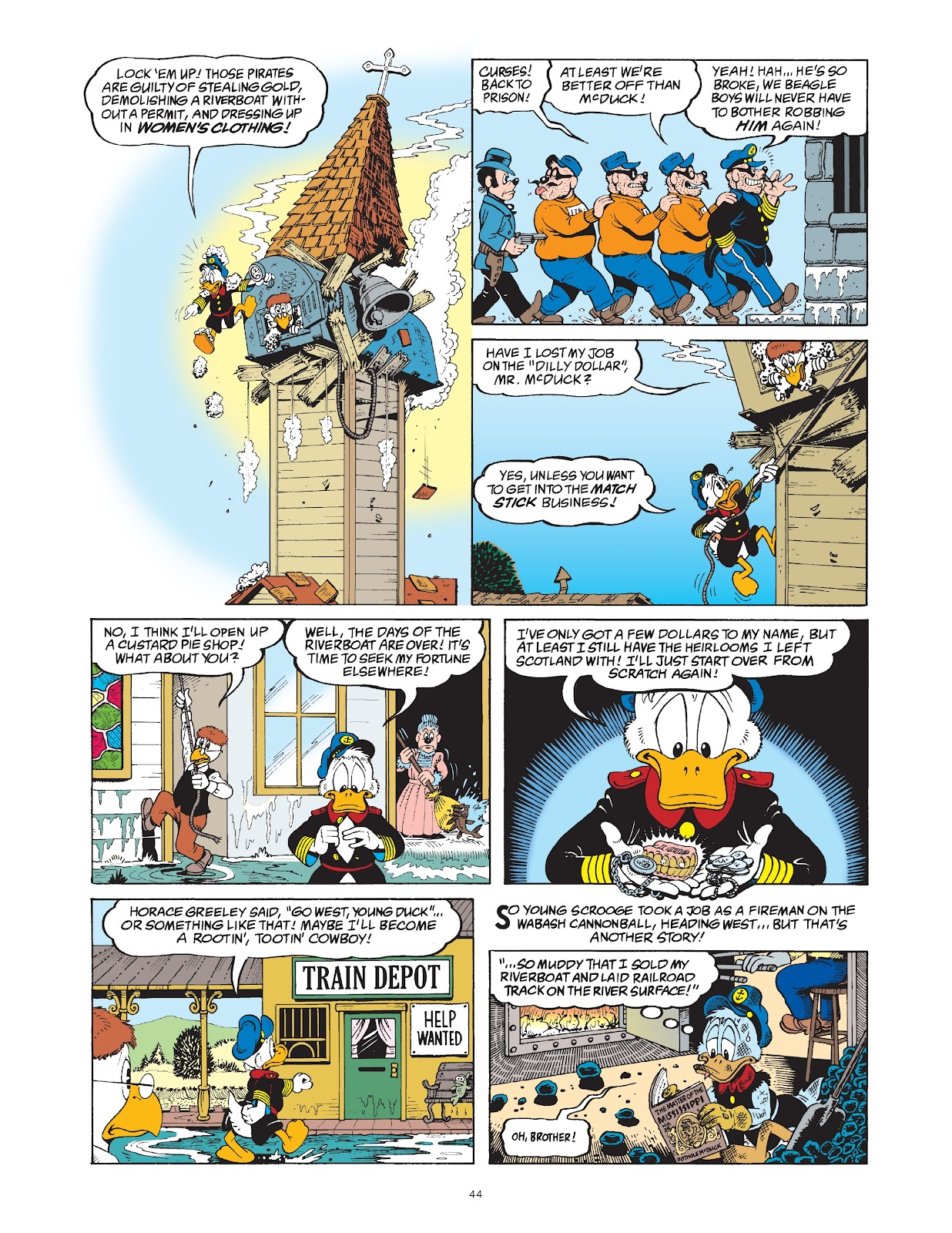 Read online The Complete Life and Times of Scrooge McDuck comic -  Issue # TPB 1 (Part 1) - 51