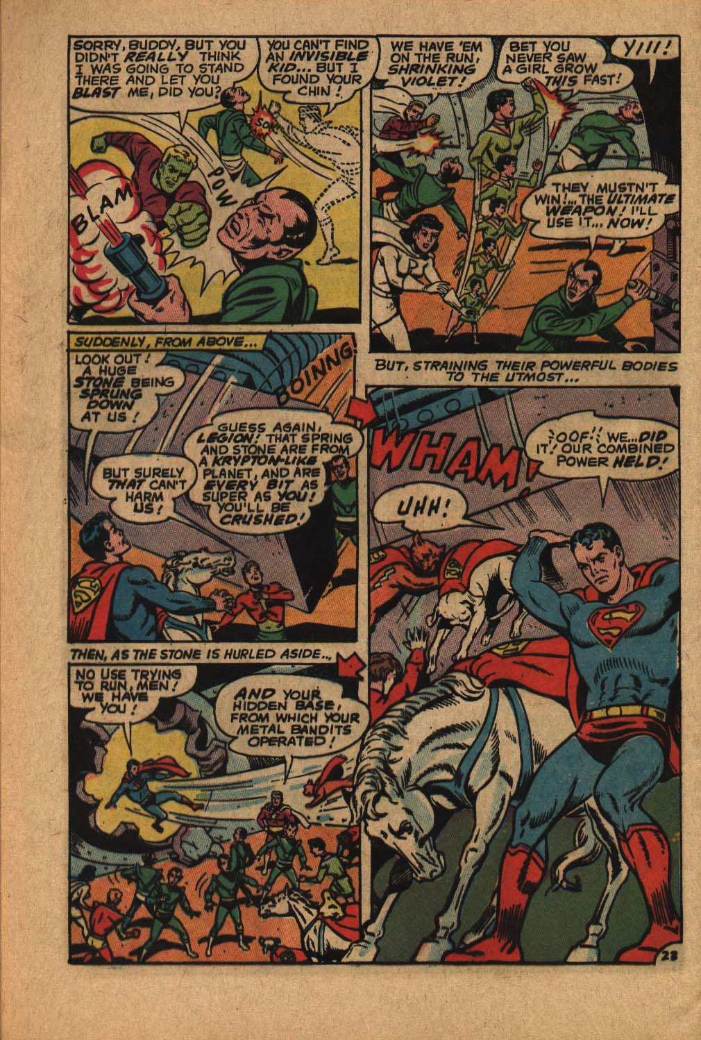 Read online Adventure Comics (1938) comic -  Issue #364 - 32