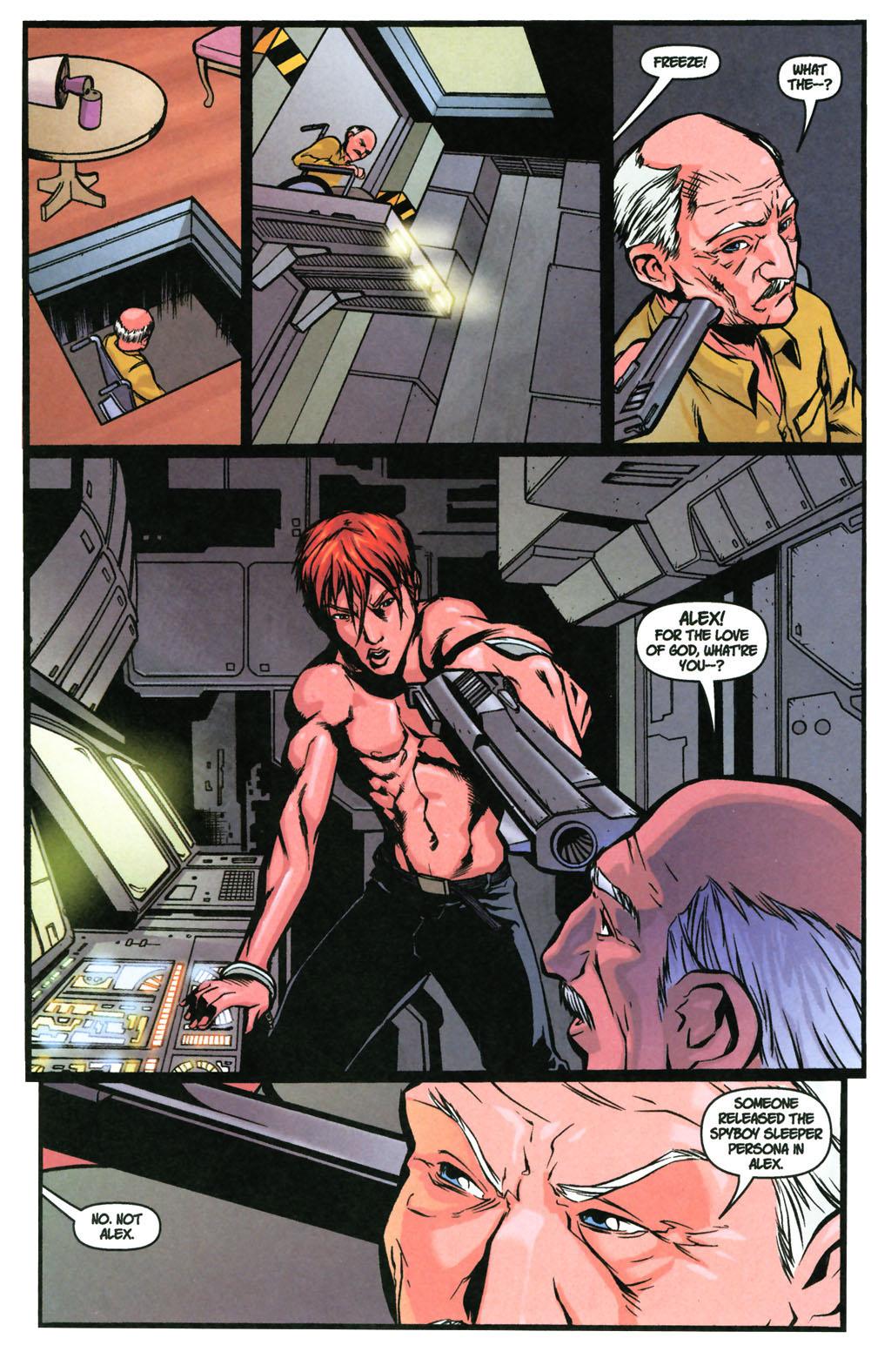 Read online SpyBoy: Final Exam comic -  Issue #3 - 14